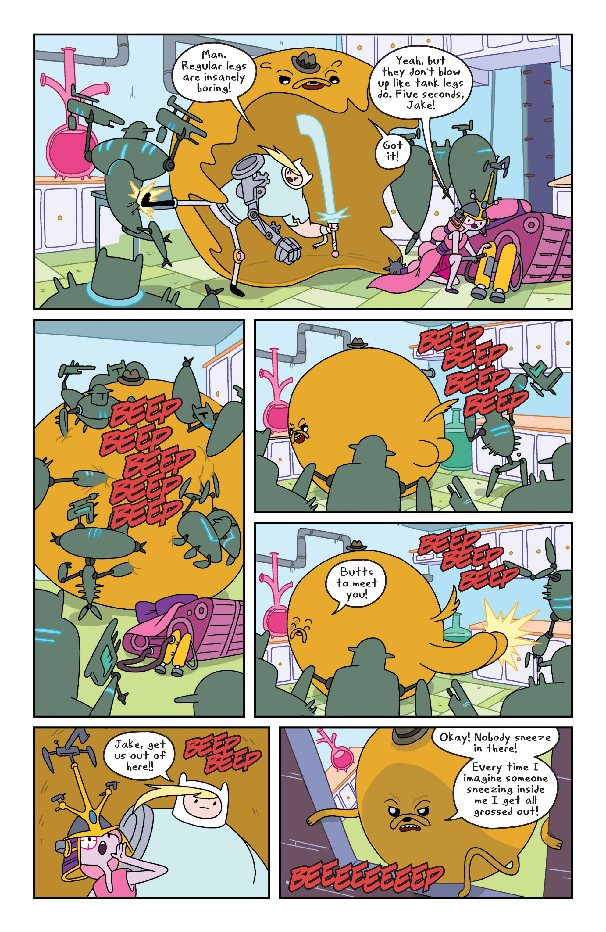 Read online Adventure Time comic -  Issue #8 - 11
