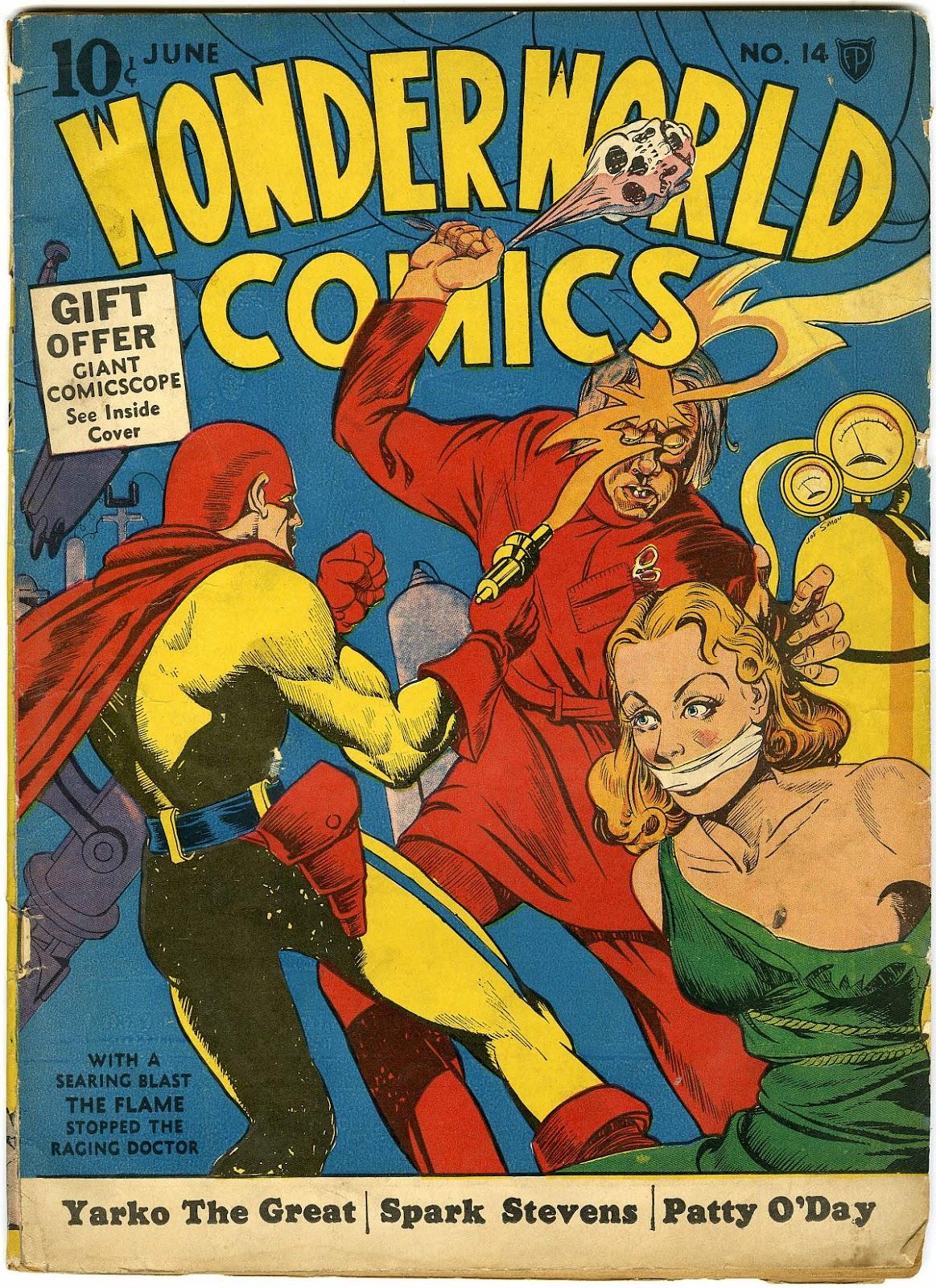 Wonderworld Comics issue 14 - Page 1