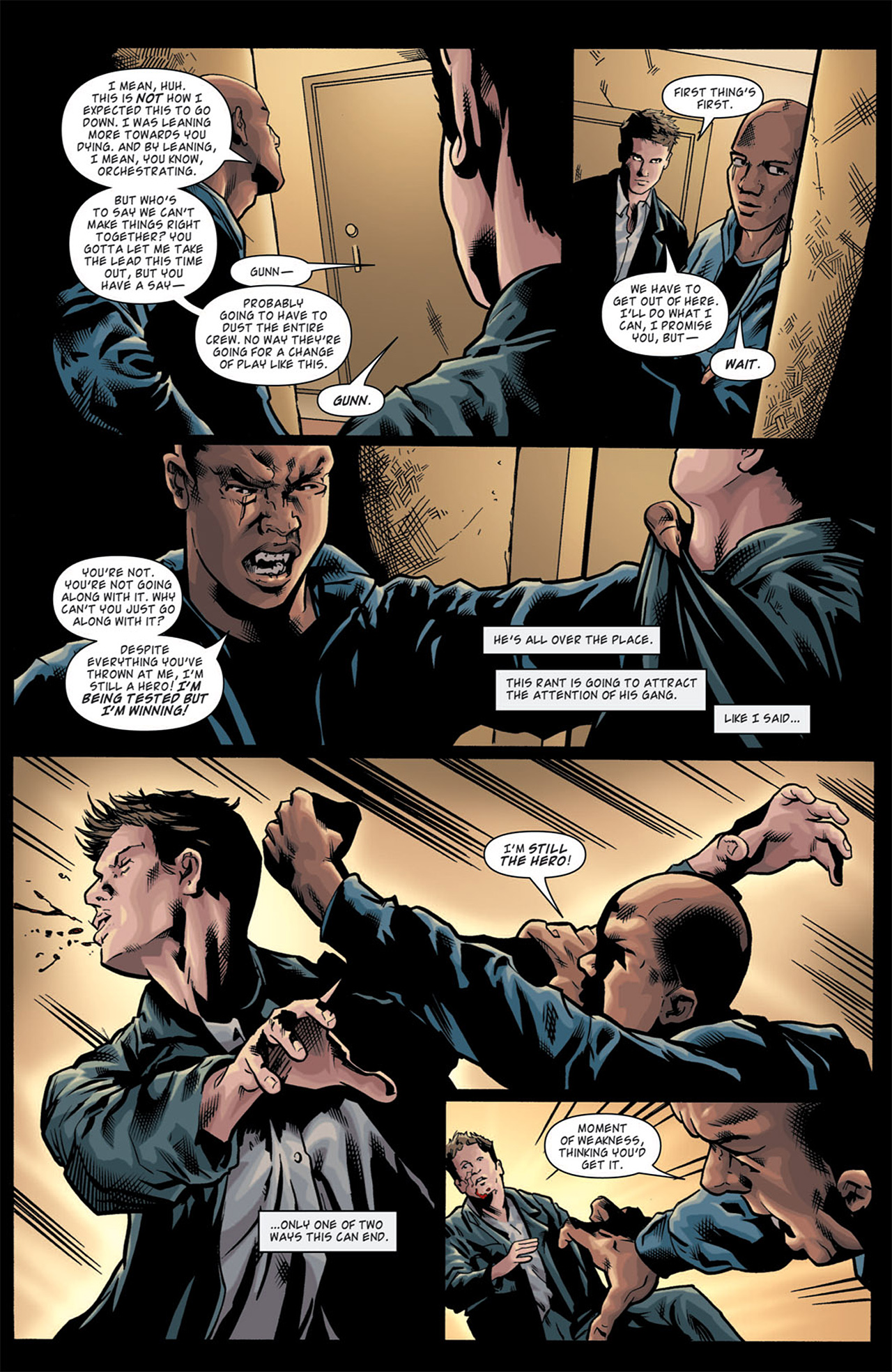 Read online Angel: After The Fall comic -  Issue #11 - 17