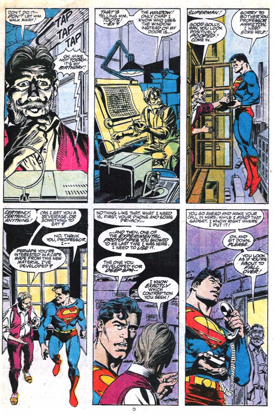 Read online Adventures of Superman (1987) comic -  Issue #450 - 6