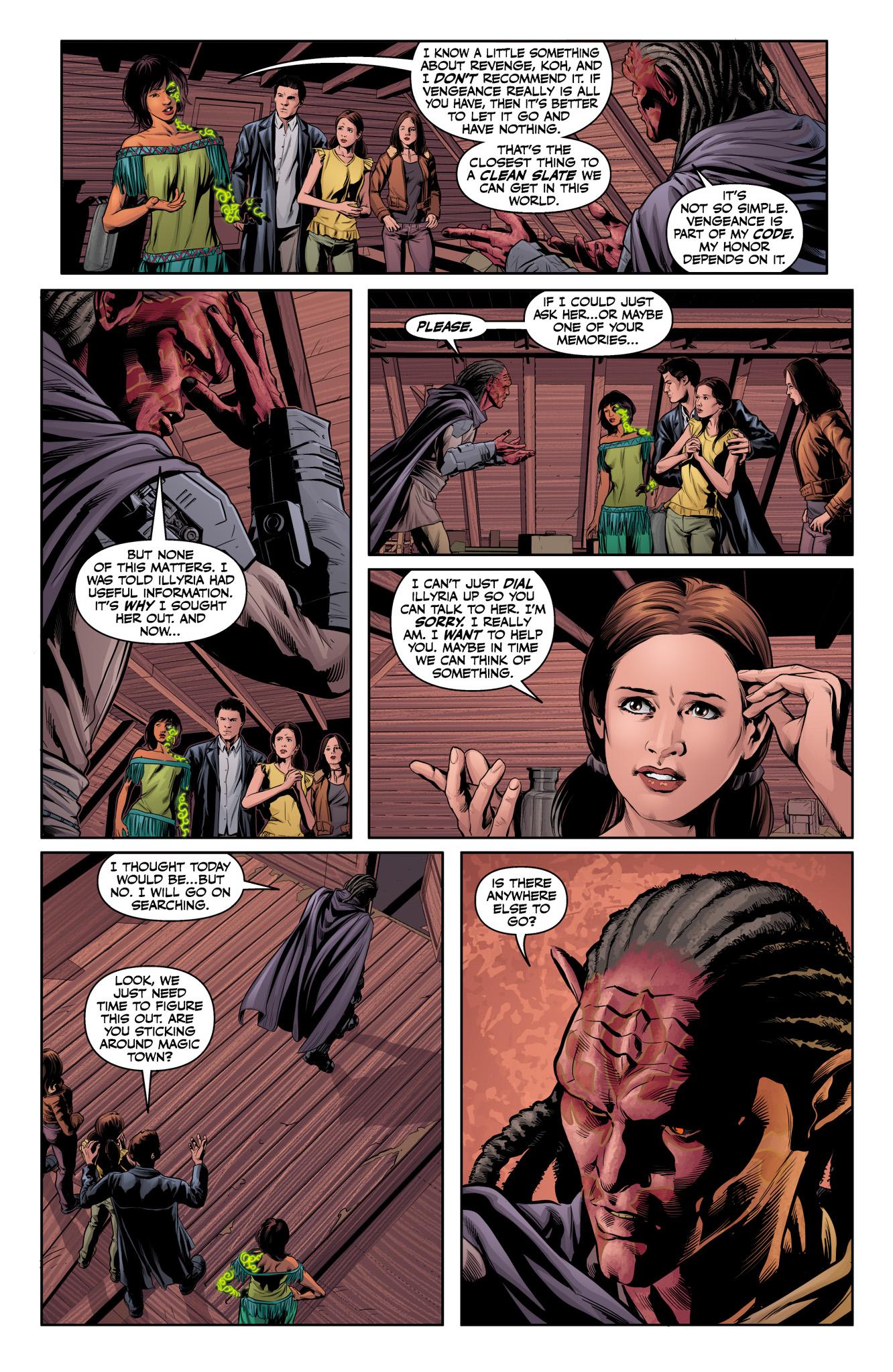 Read online Angel & Faith Season 10 comic -  Issue #12 - 12