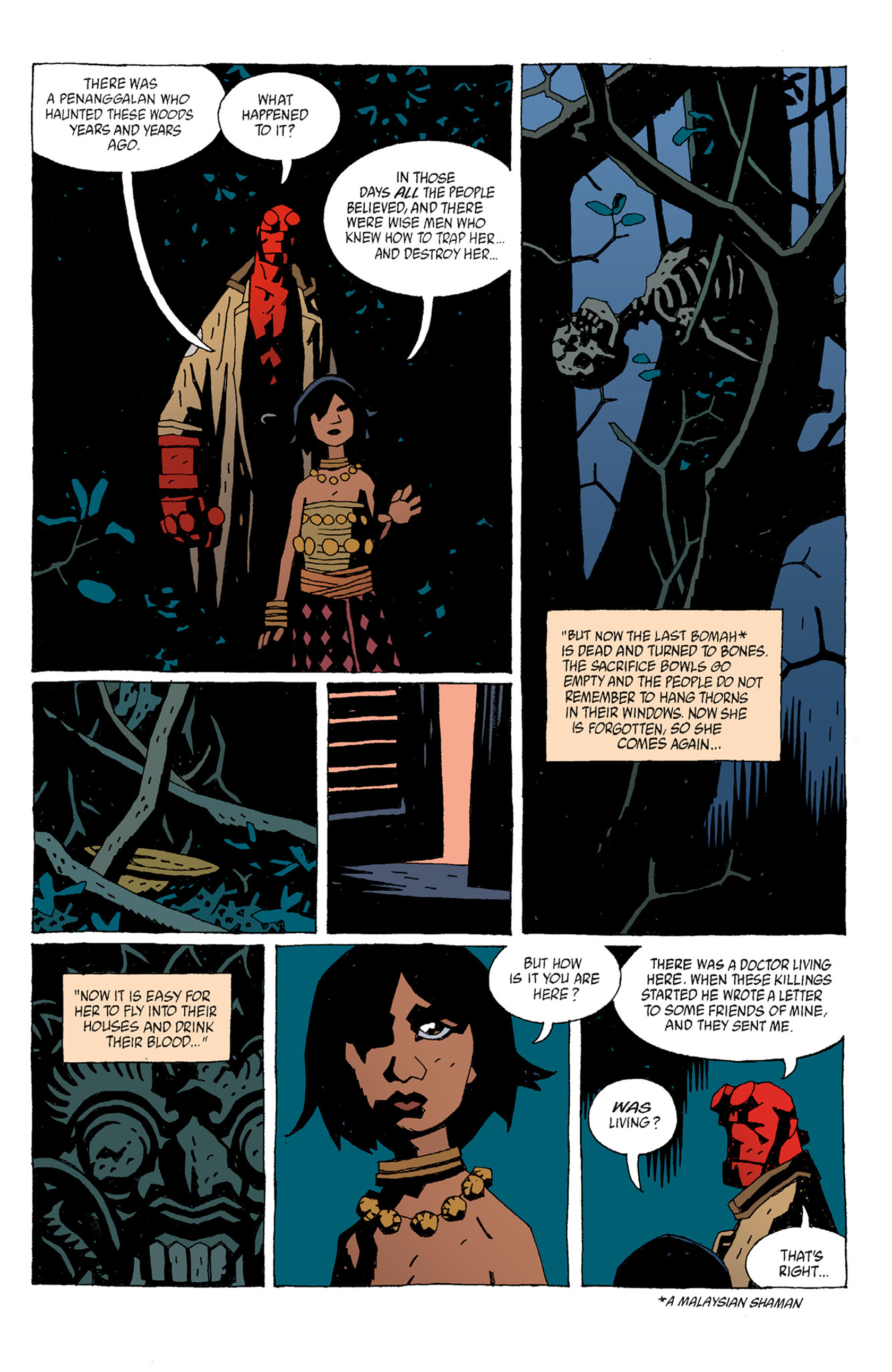 Read online Hellboy: The Troll Witch and Others comic -  Issue # TPB - 9