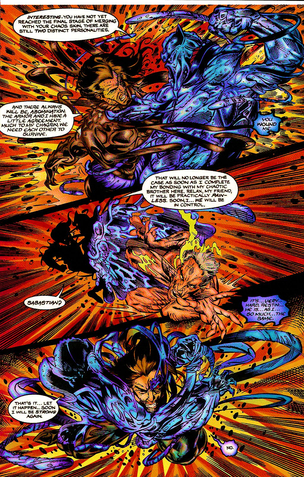 Read online Chains of Chaos comic -  Issue #3 - 22