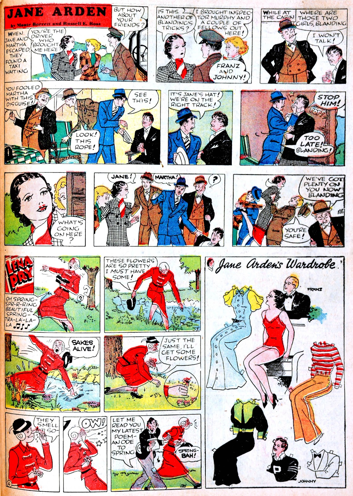 Read online Famous Funnies comic -  Issue #38 - 51