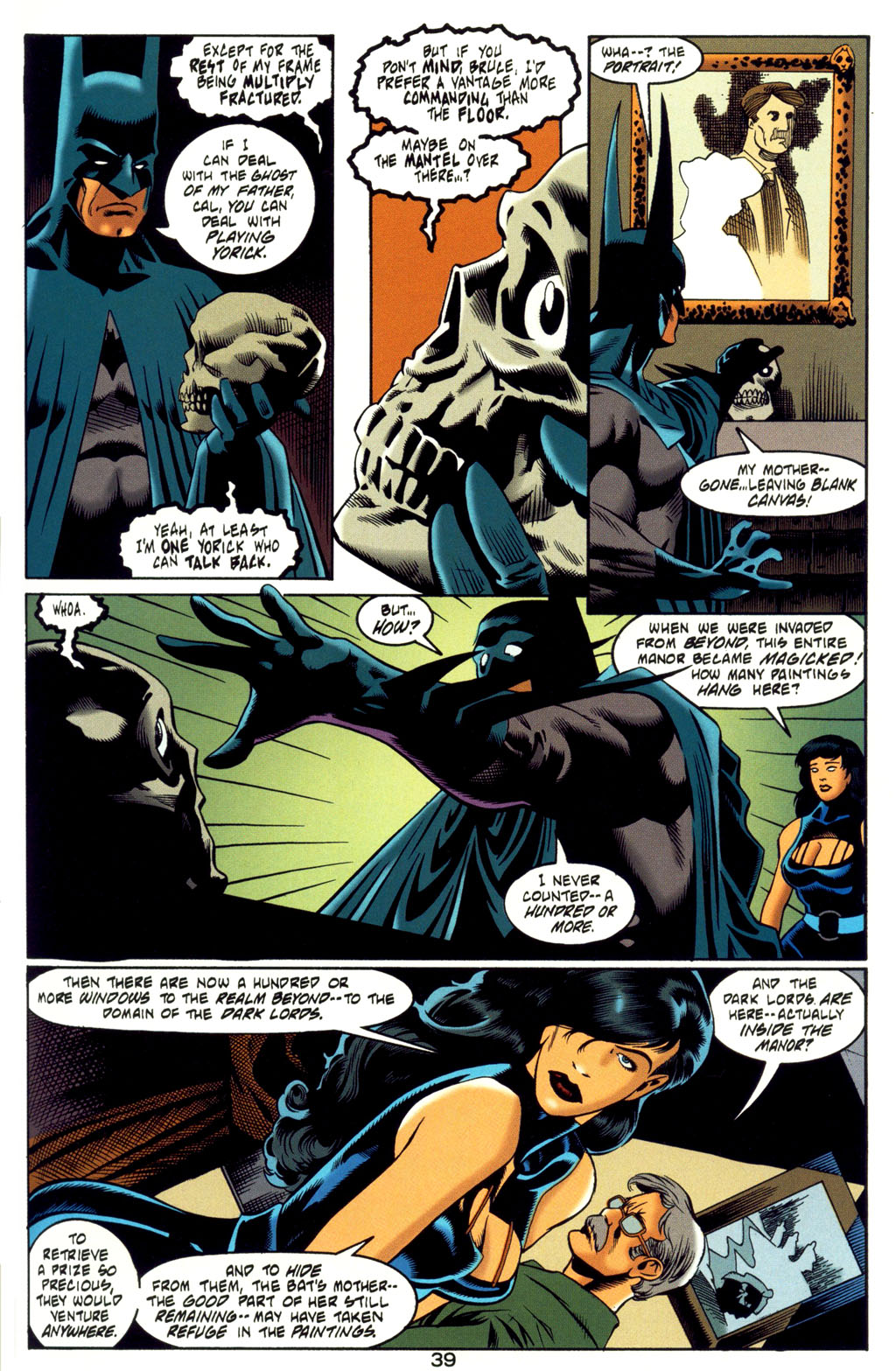 Read online Batman: Haunted Gotham comic -  Issue #4 - 39