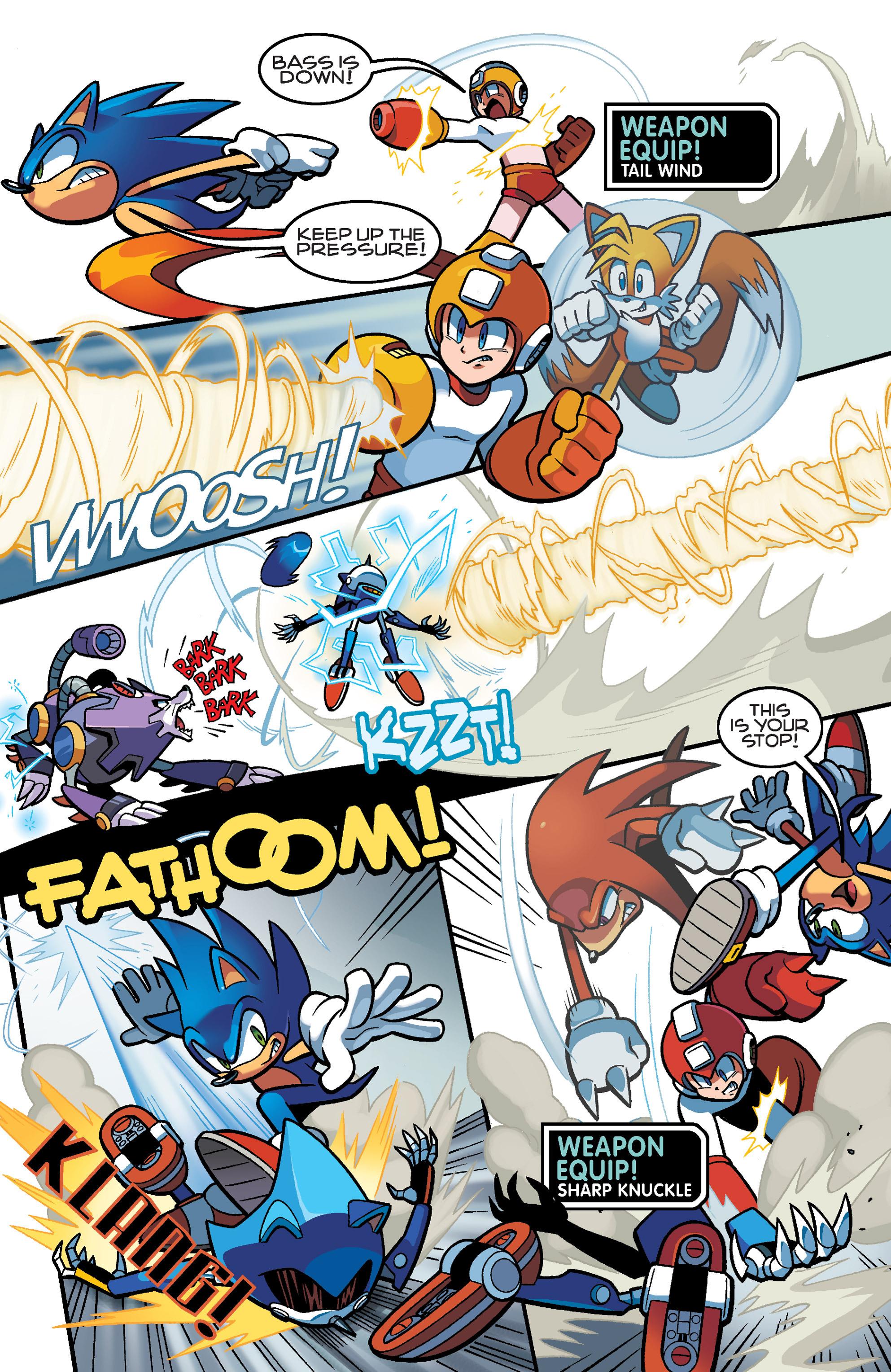 Read online Sonic Mega Man Worlds Collide comic -  Issue # Vol 3 - 85