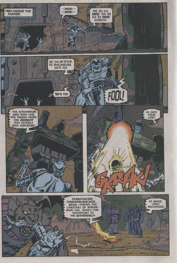Read online Transformers: Generation 2 comic -  Issue #7 - 6