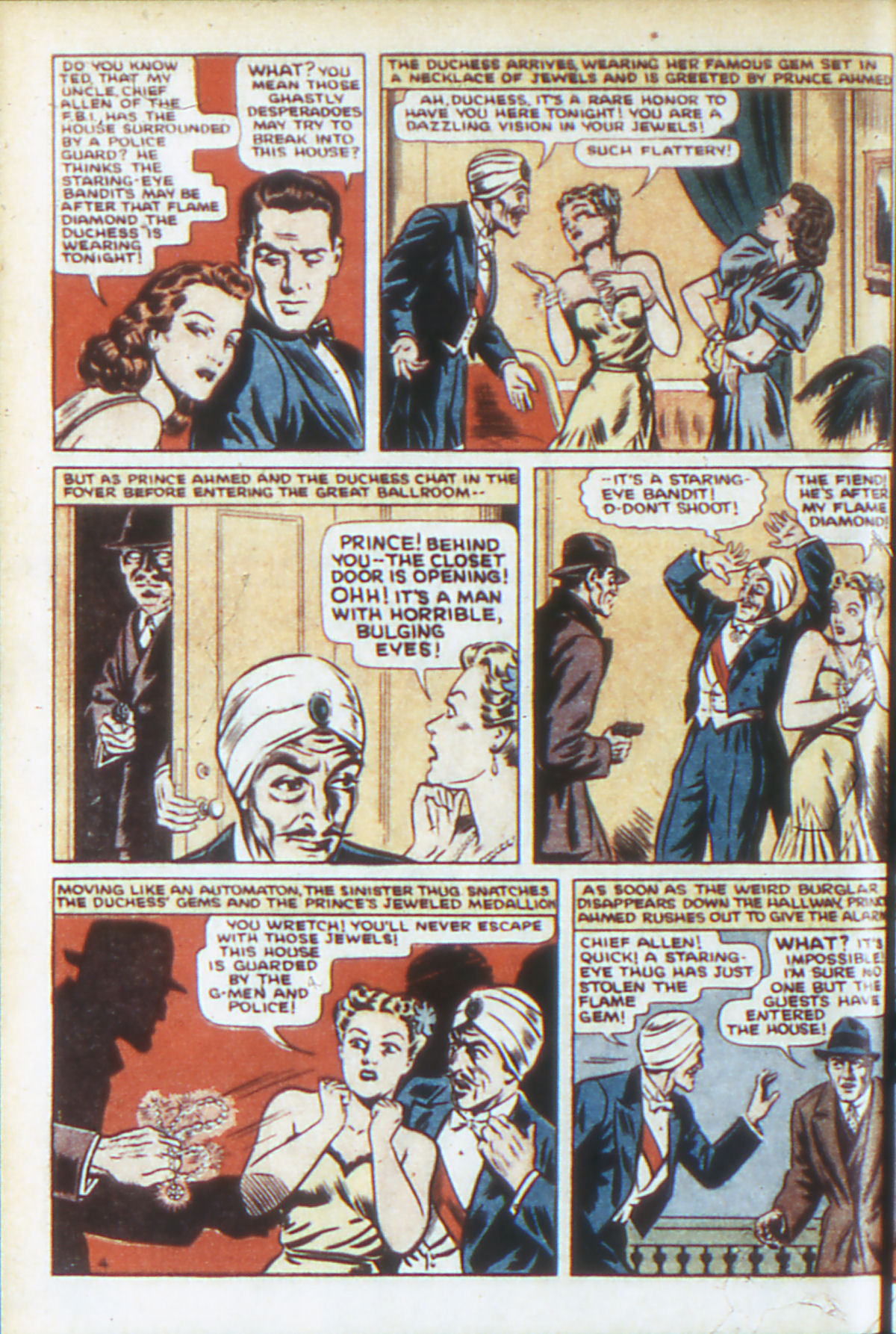 Read online Adventure Comics (1938) comic -  Issue #64 - 7