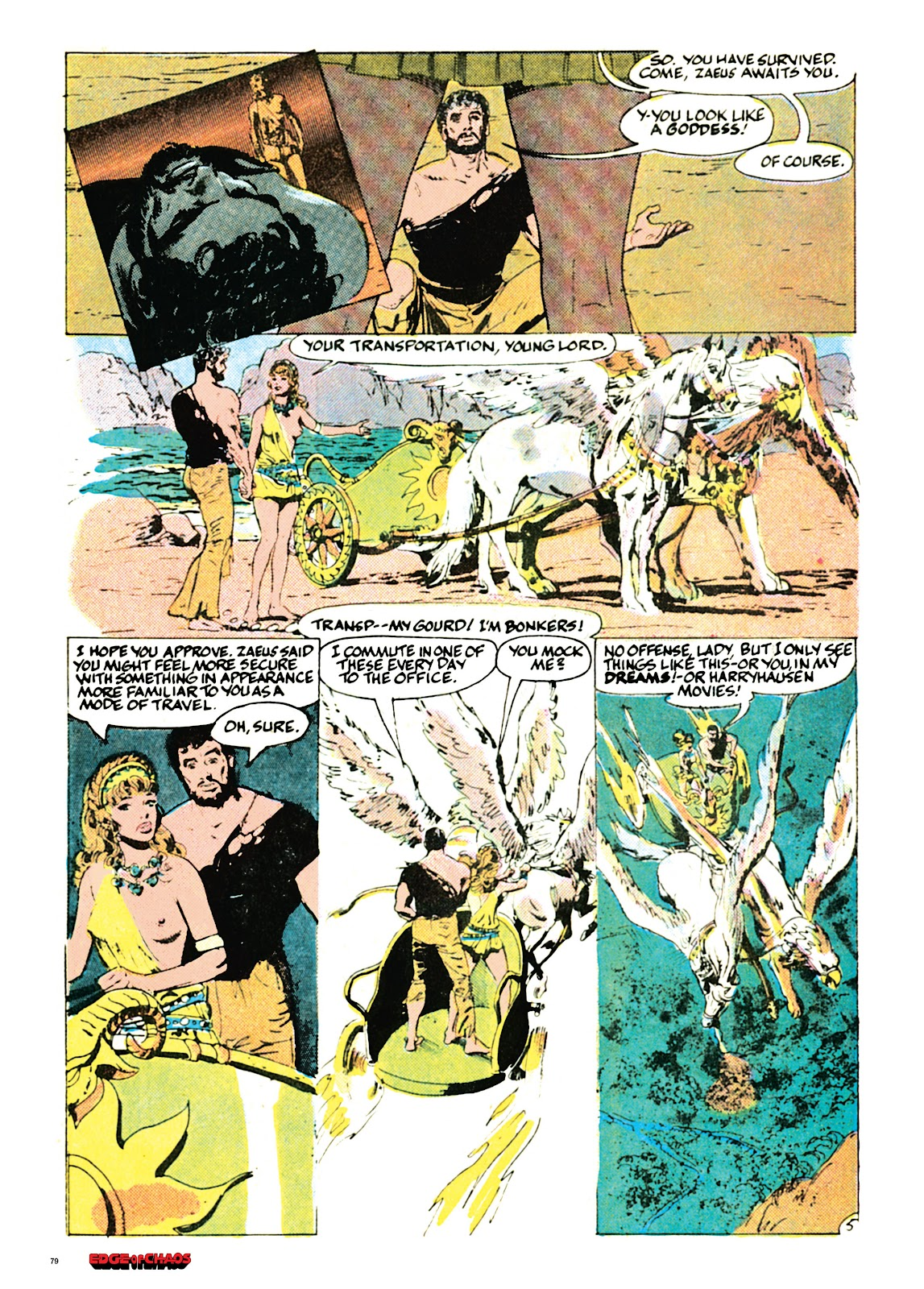 Read online Orion and Edge of Chaos comic -  Issue # TPB - 80