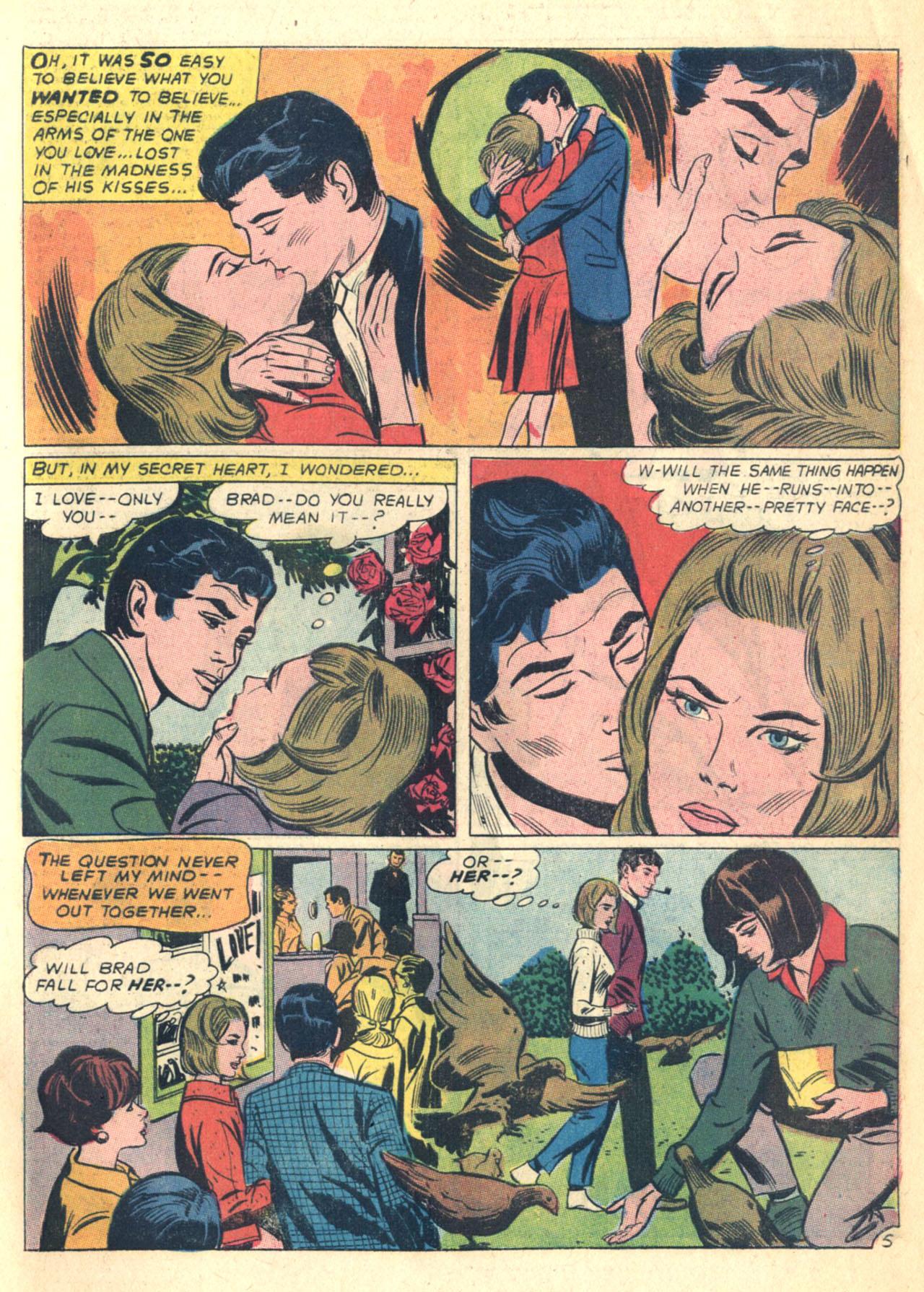 Read online Secret Hearts comic -  Issue #110 - 7