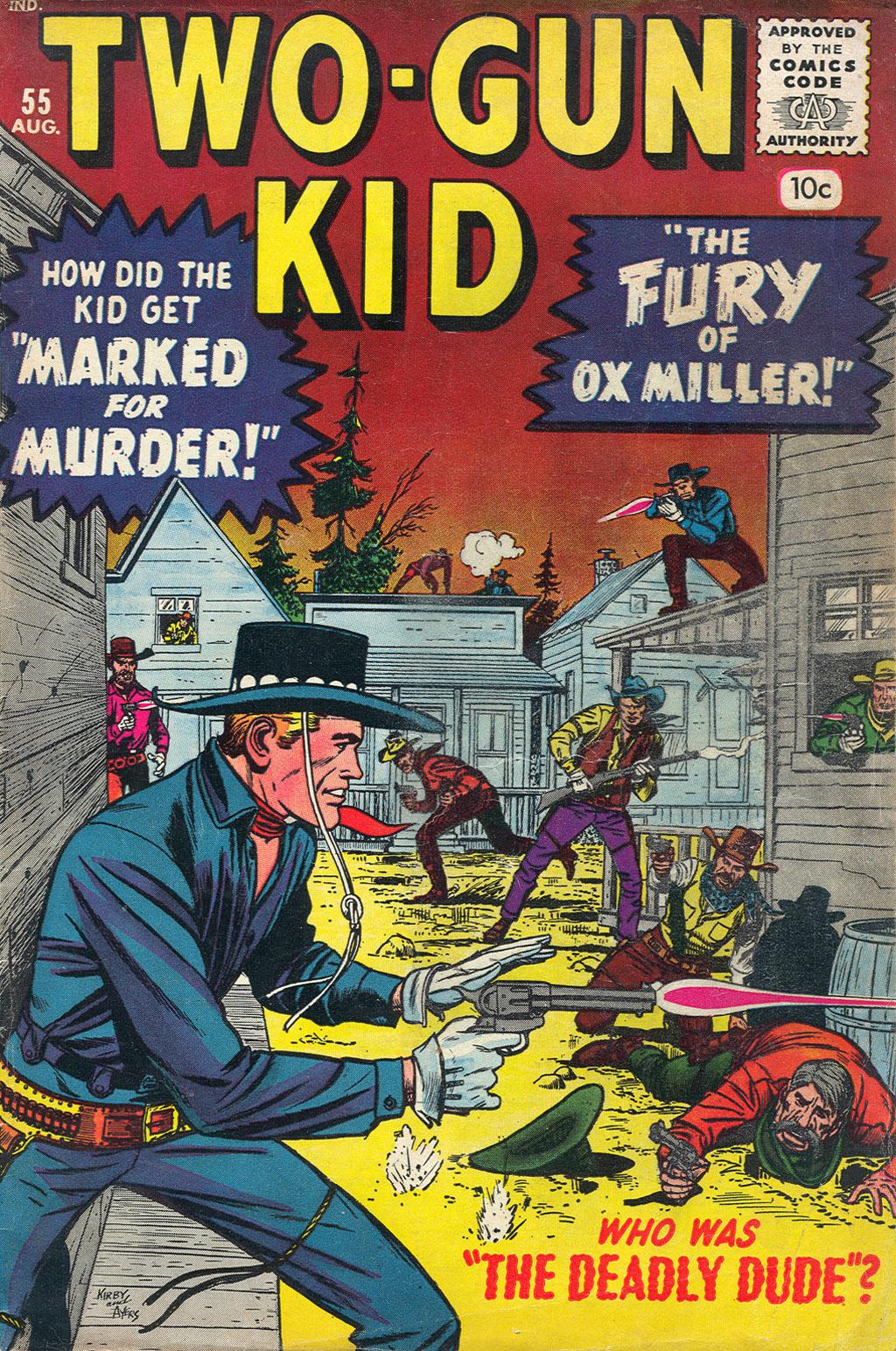 Read online Two-Gun Kid comic -  Issue #55 - 1