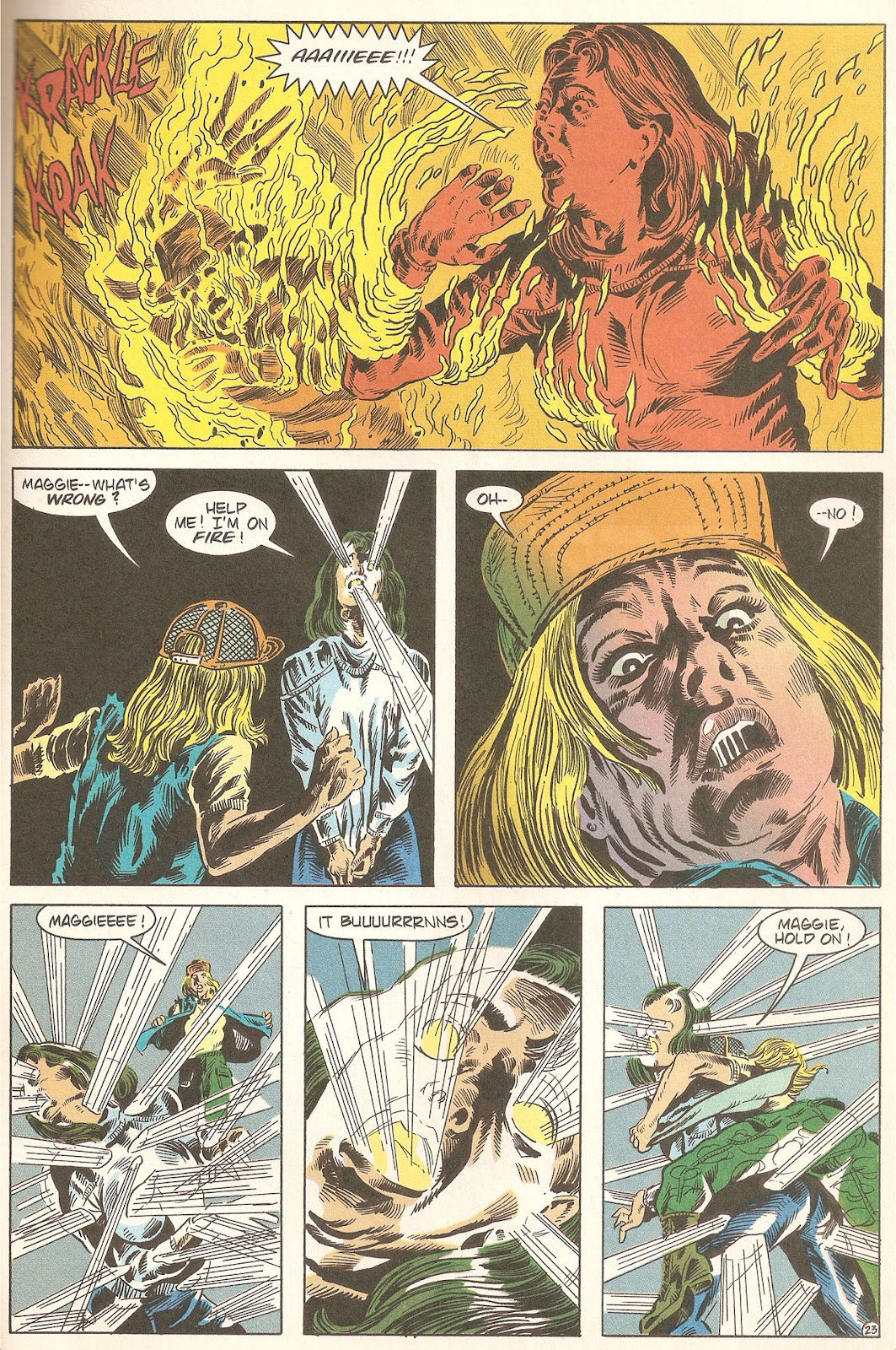 Read online A Nightmare on Elm Street: The Beginning comic -  Issue #2 - 25