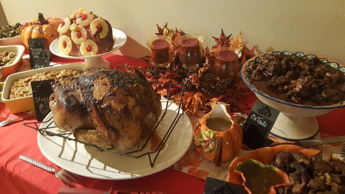 thanksgiving Table menu