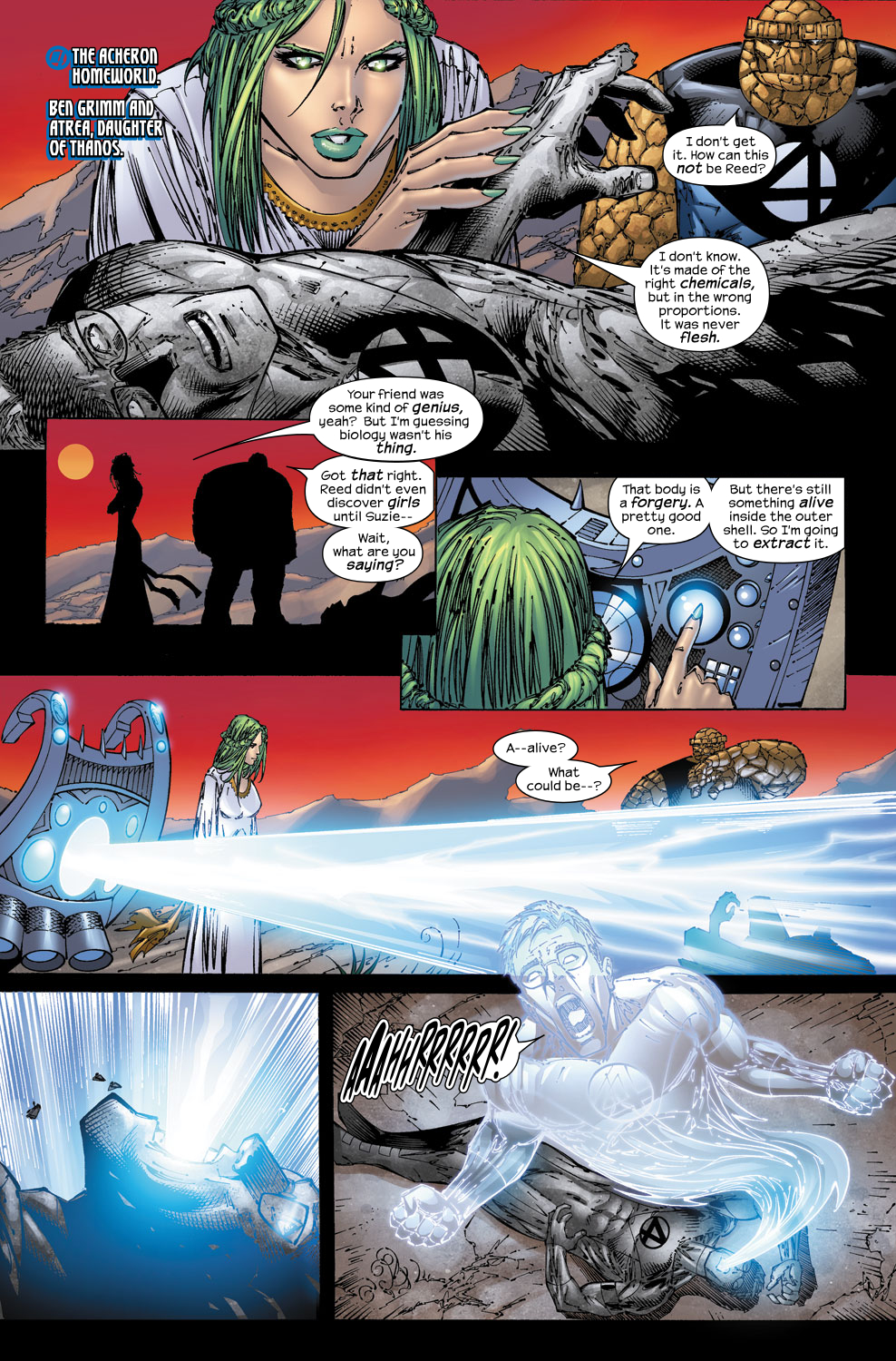 Read online Ultimate Fantastic Four (2004) comic -  Issue #53 - 7