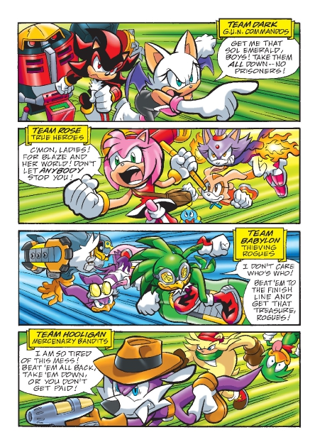 Read online Sonic Comics Spectacular: Speed of Sound comic -  Issue # Full - 190