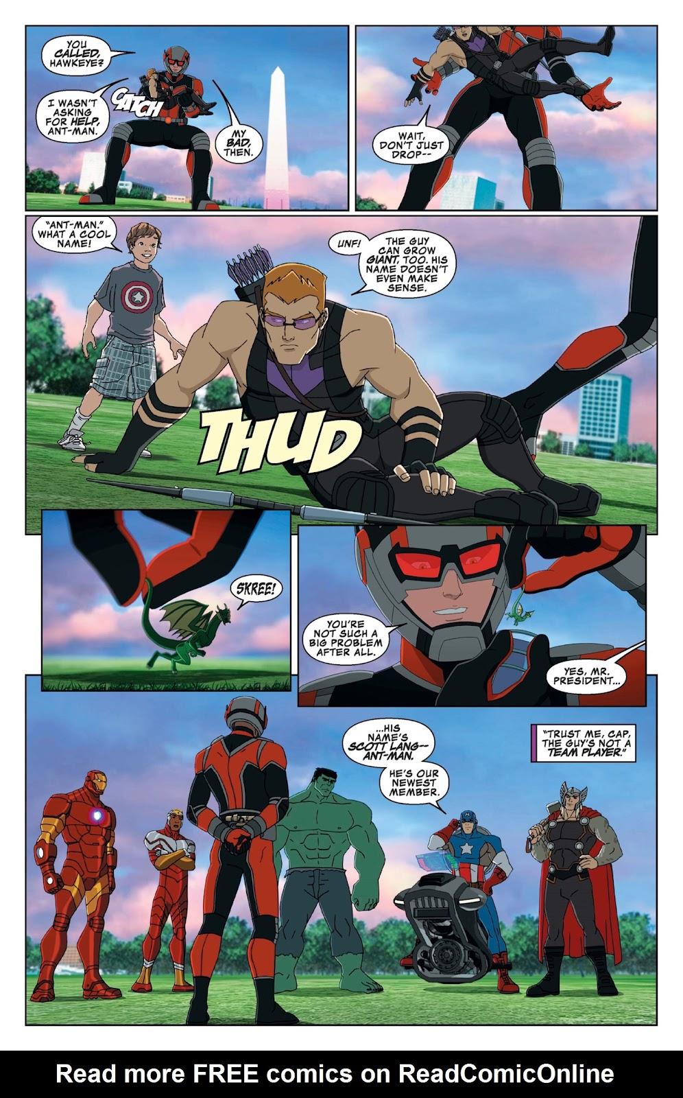 Read online Marvel Universe Avengers Assemble Season 2 comic -  Issue #9 - 6