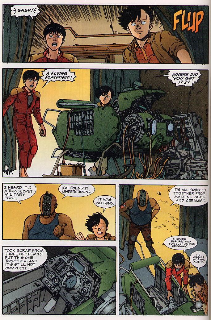 Read online Akira comic -  Issue #24 - 58