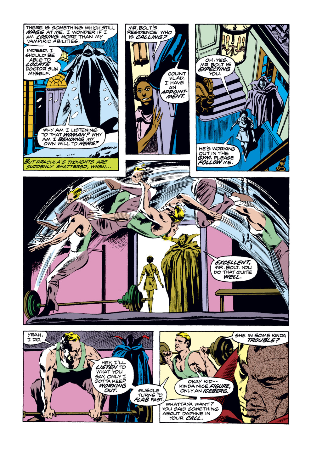 Tomb of Dracula (1972) issue 35 - Page 15