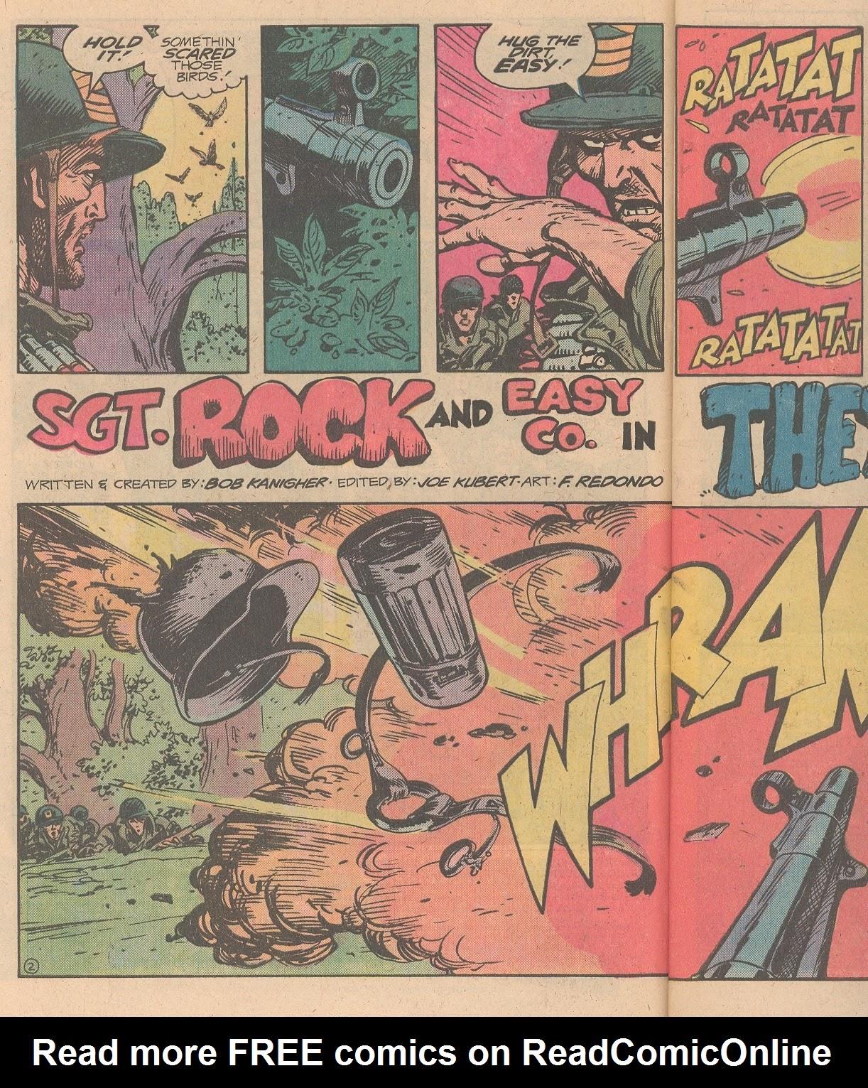 Read online Sgt. Rock comic -  Issue #346 - 3