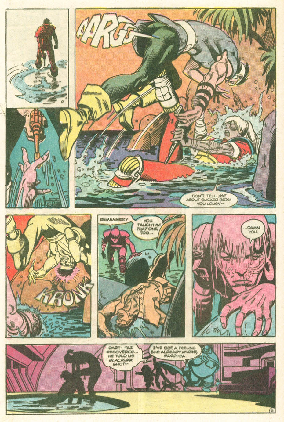 Read online Atari Force (1984) comic -  Issue #11 - 23