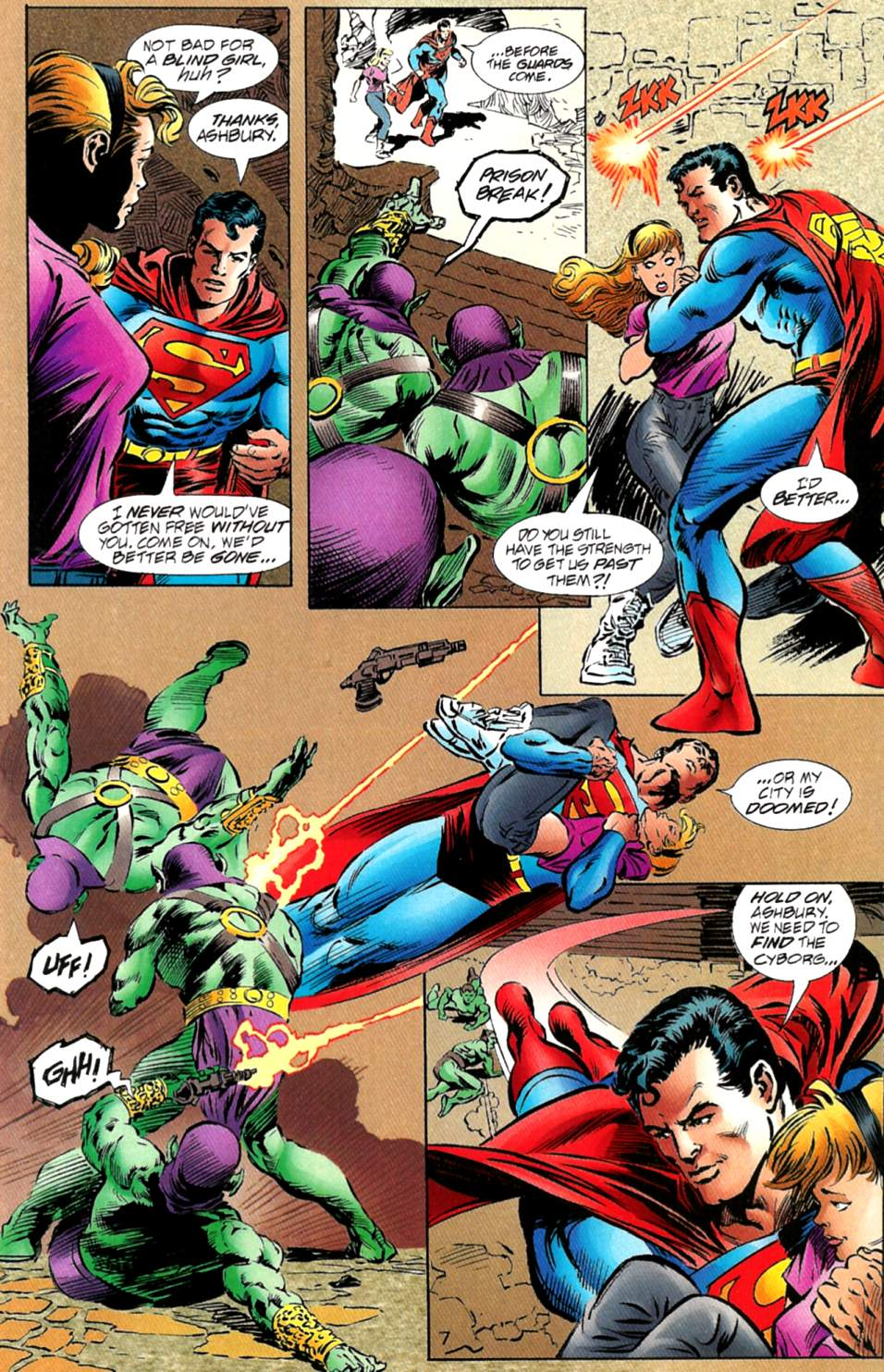 Read online Adventures of Superman (1987) comic -  Issue #563 - 8