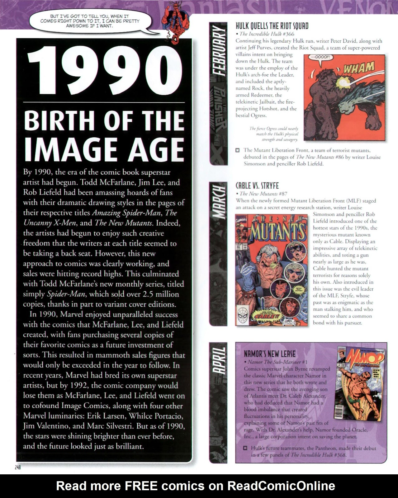 Read online Marvel Chronicle comic -  Issue # TPB (Part 3) - 38