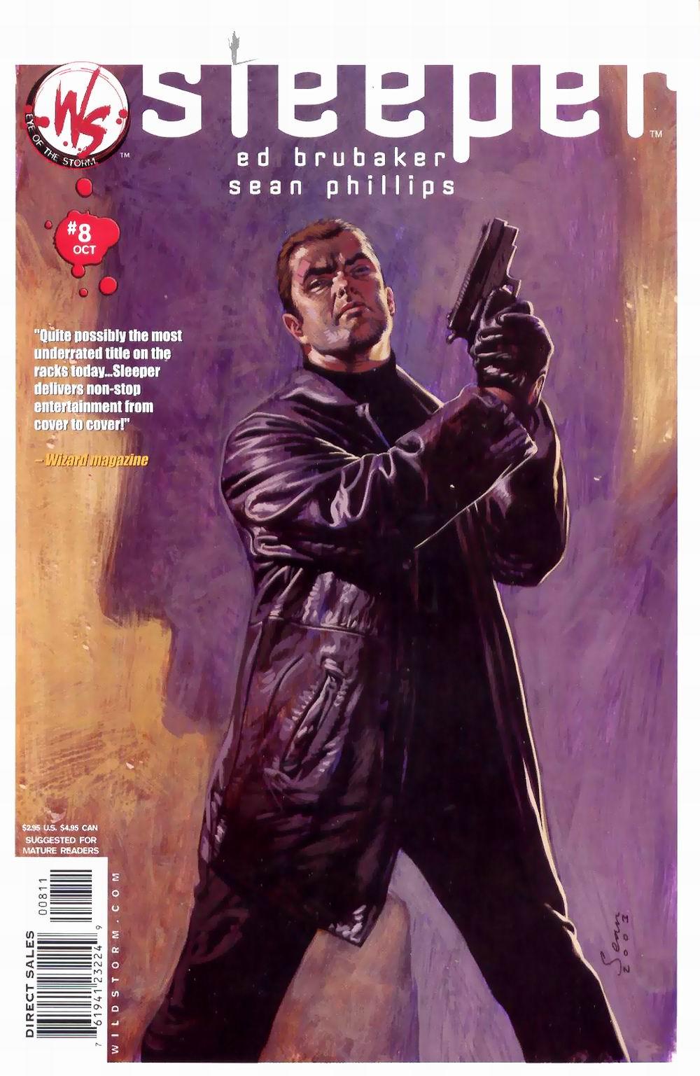Read online Sleeper comic -  Issue #8 - 2
