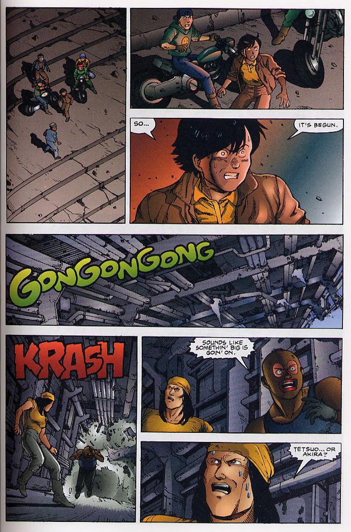 Read online Akira comic -  Issue #36 - 39