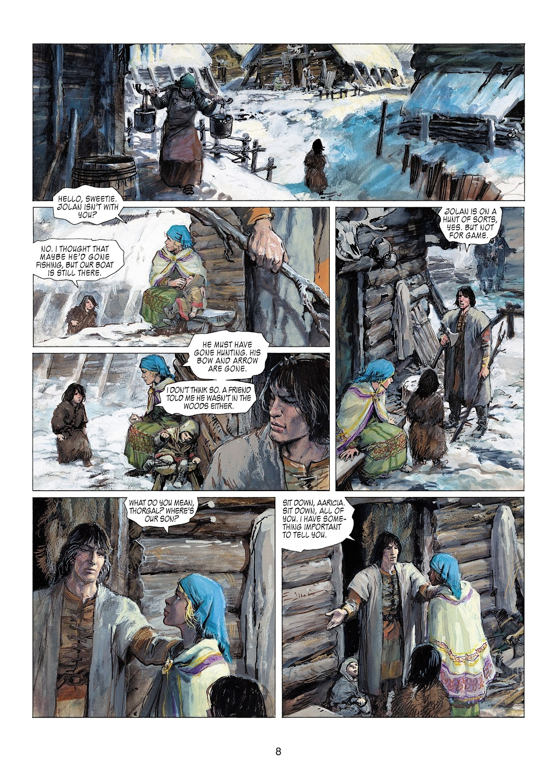 Read online Thorgal comic -  Issue #22 - 10