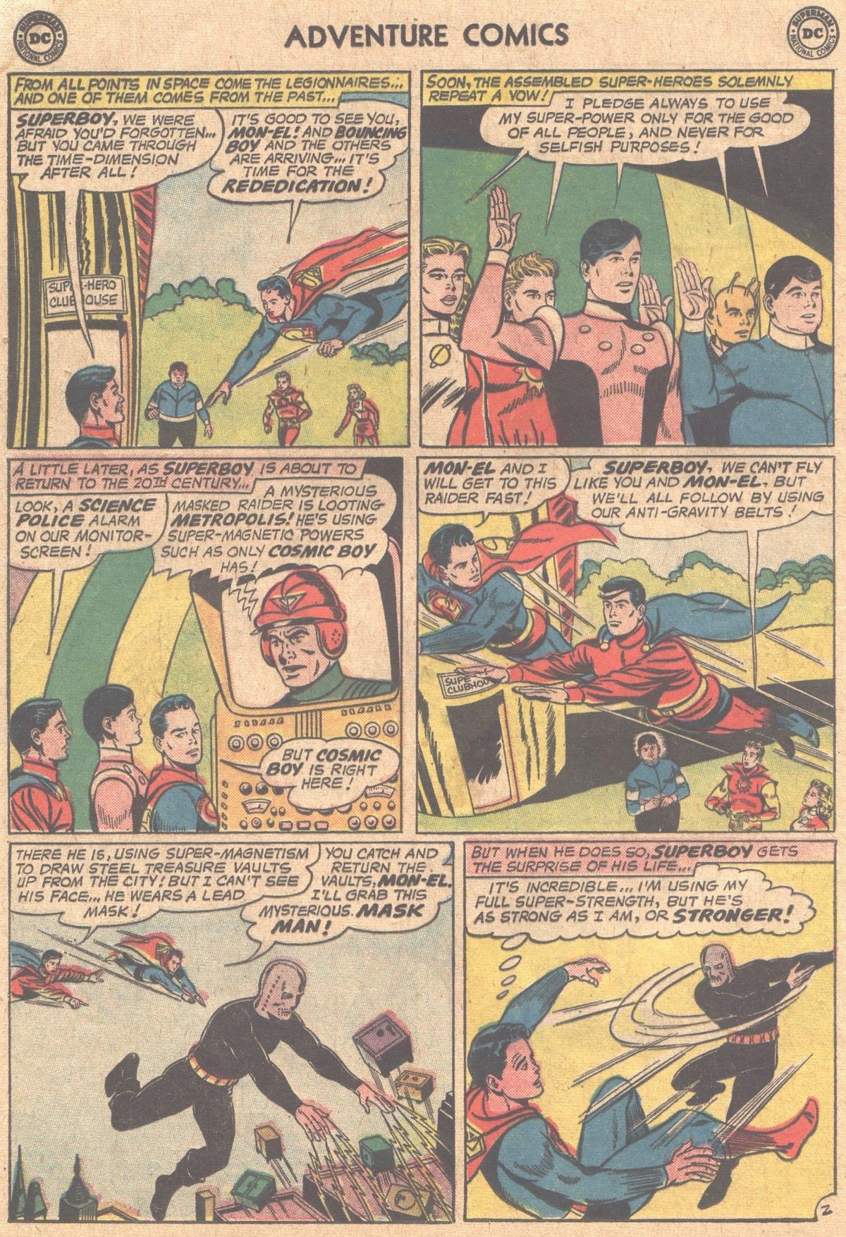 Read online Adventure Comics (1938) comic -  Issue #310 - 4