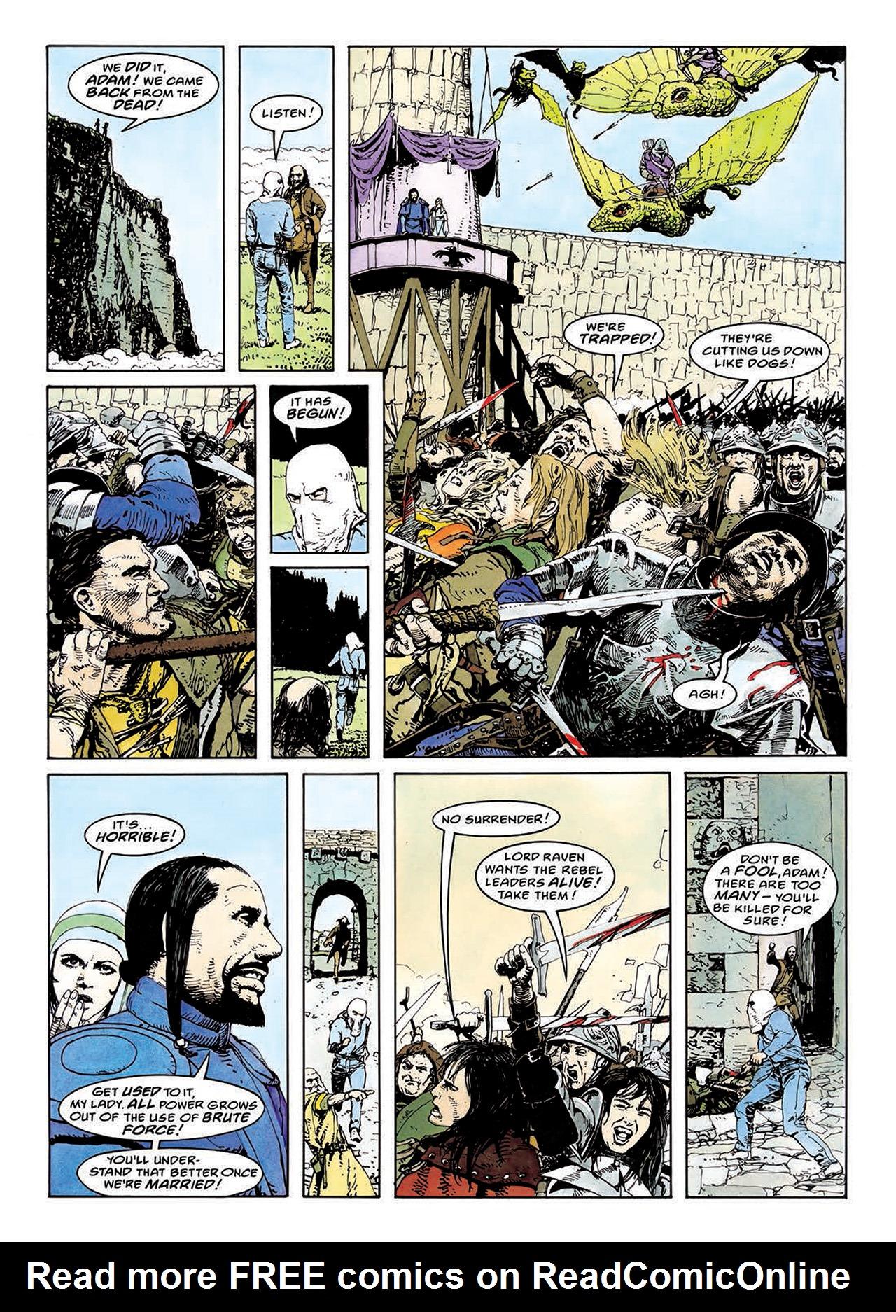 Read online Mazeworld comic -  Issue # TPB - 114