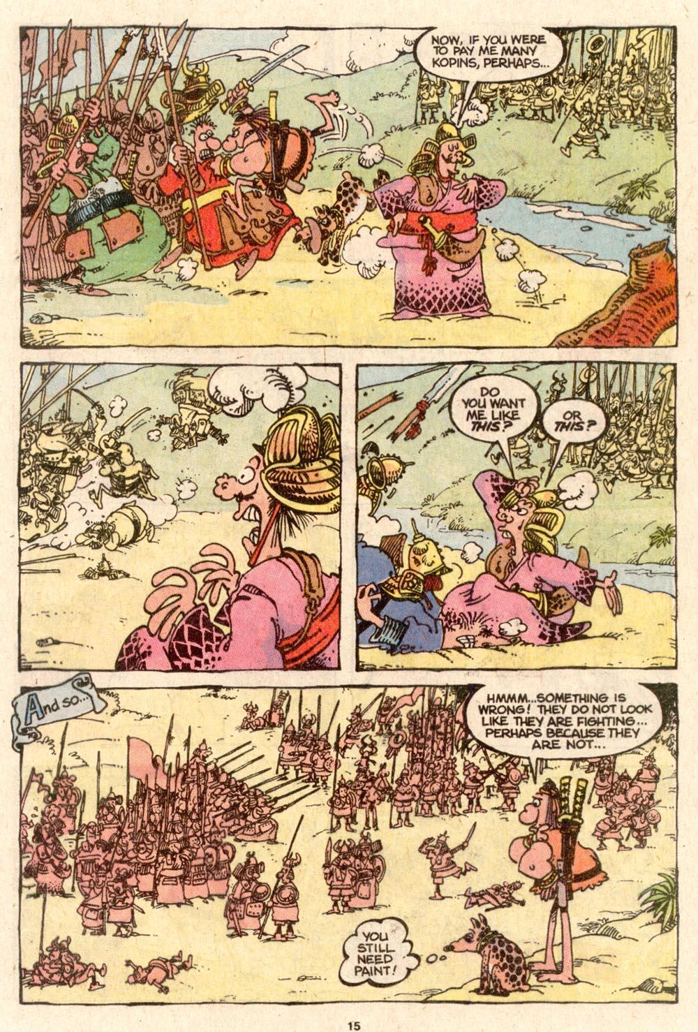 Read online Sergio Aragonés Groo the Wanderer comic -  Issue #64 - 11