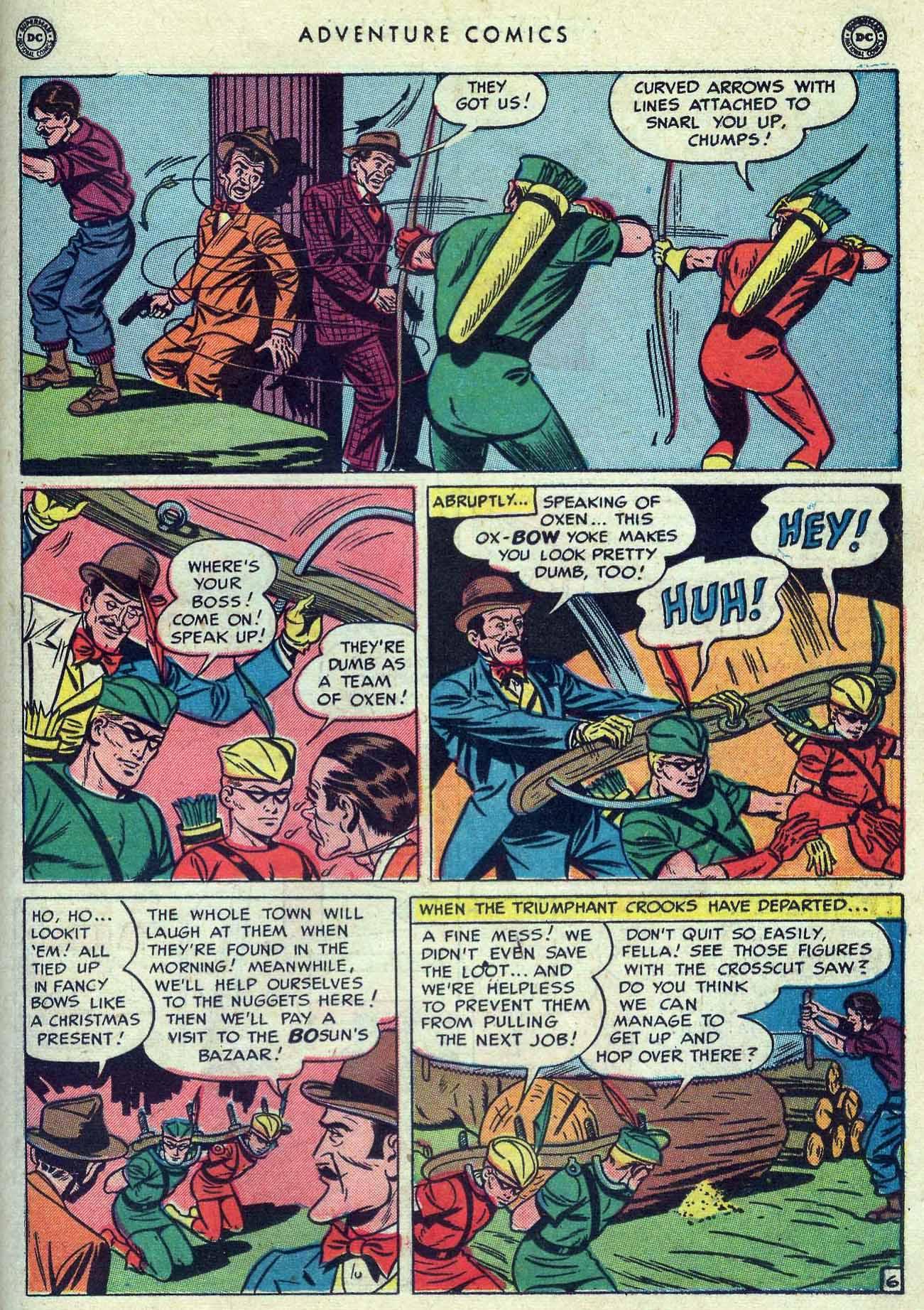 Read online Adventure Comics (1938) comic -  Issue #149 - 35