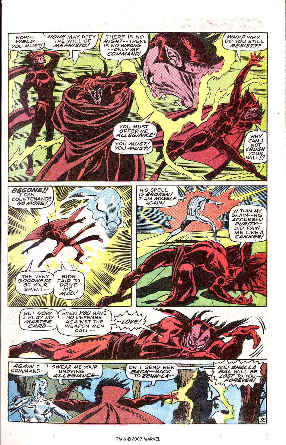 Silver Surfer (1968) issue 3 - Page 49