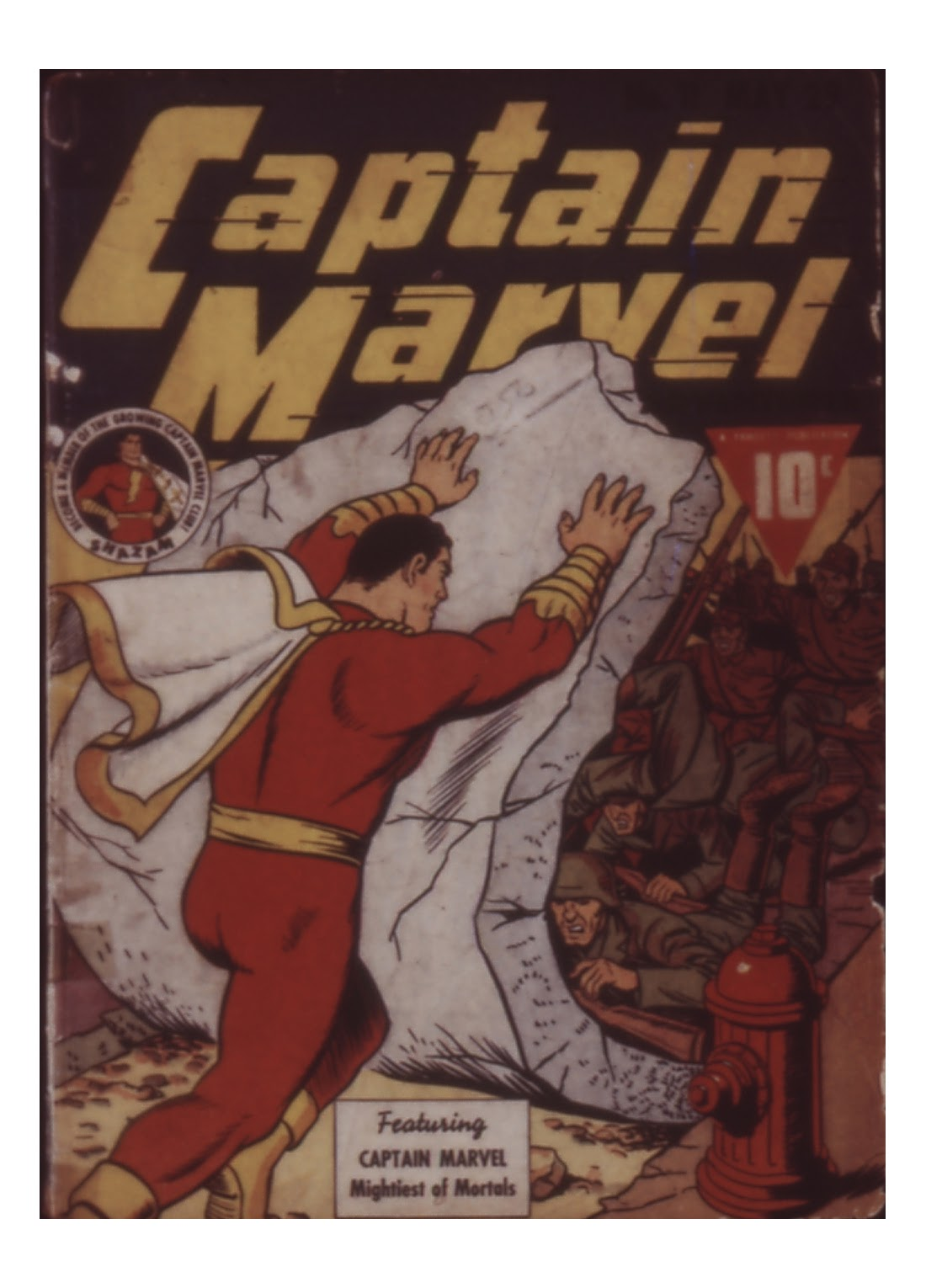Captain Marvel Adventures 11 Page 1