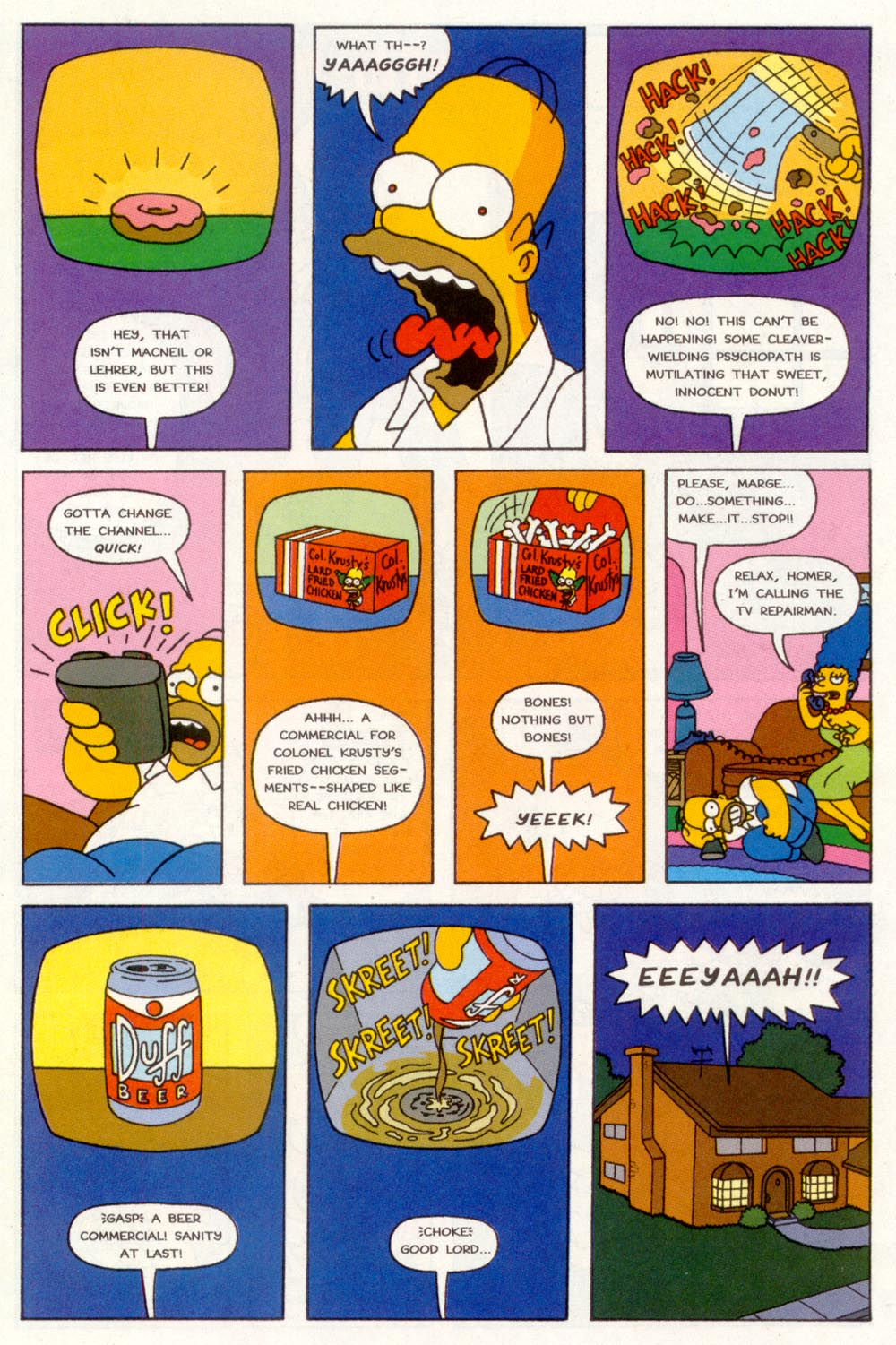 Read online Treehouse of Horror comic -  Issue #3 - 27