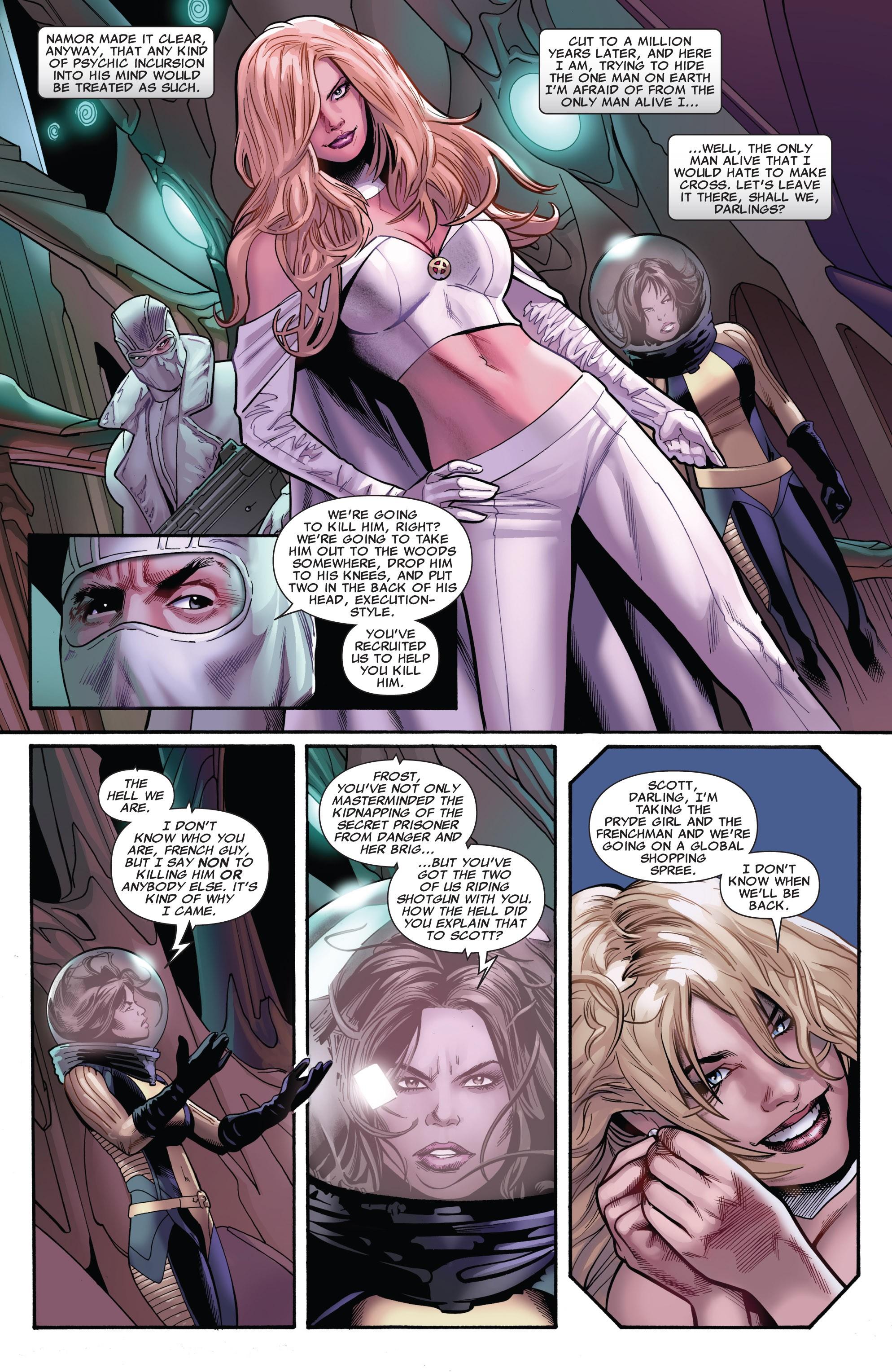 Read online Uncanny X-Men (1963) comic -  Issue #530 - 4