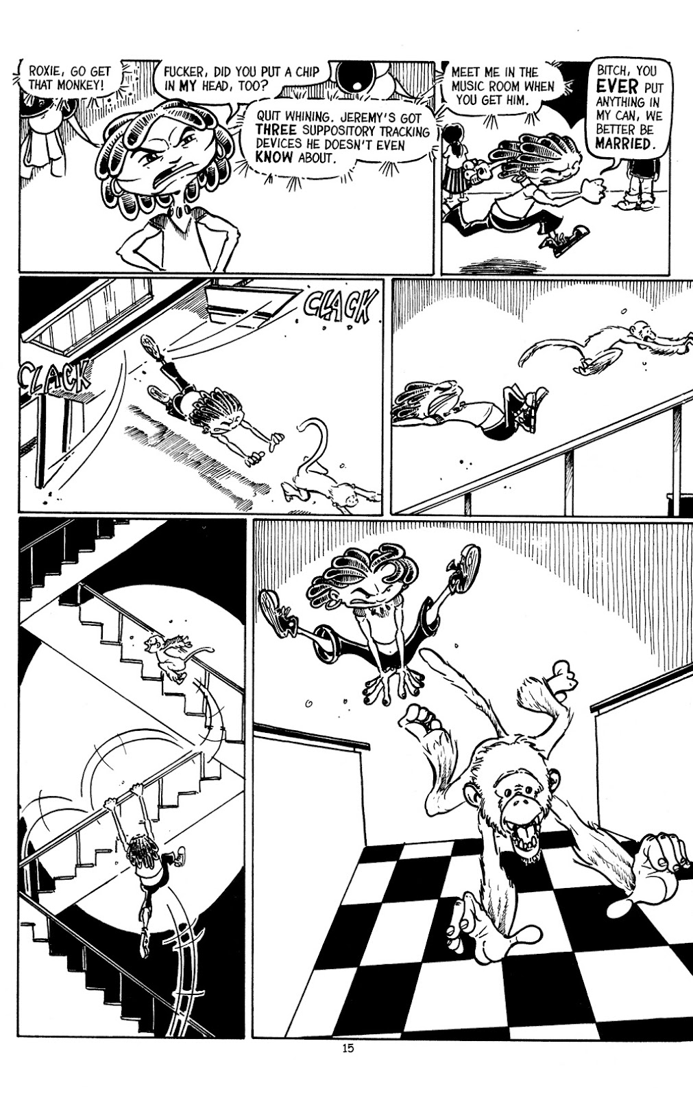 Read online The Adventures of Barry Ween, Boy Genius 3: Monkey Tales comic -  Issue #3 - 17