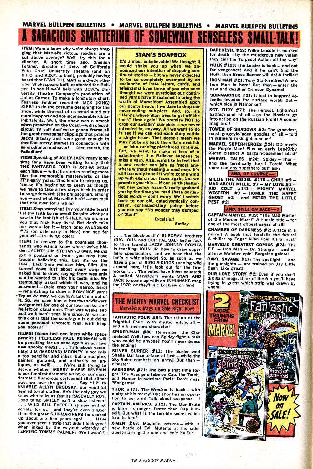 Read online Silver Surfer (1968) comic -  Issue #11 - 10