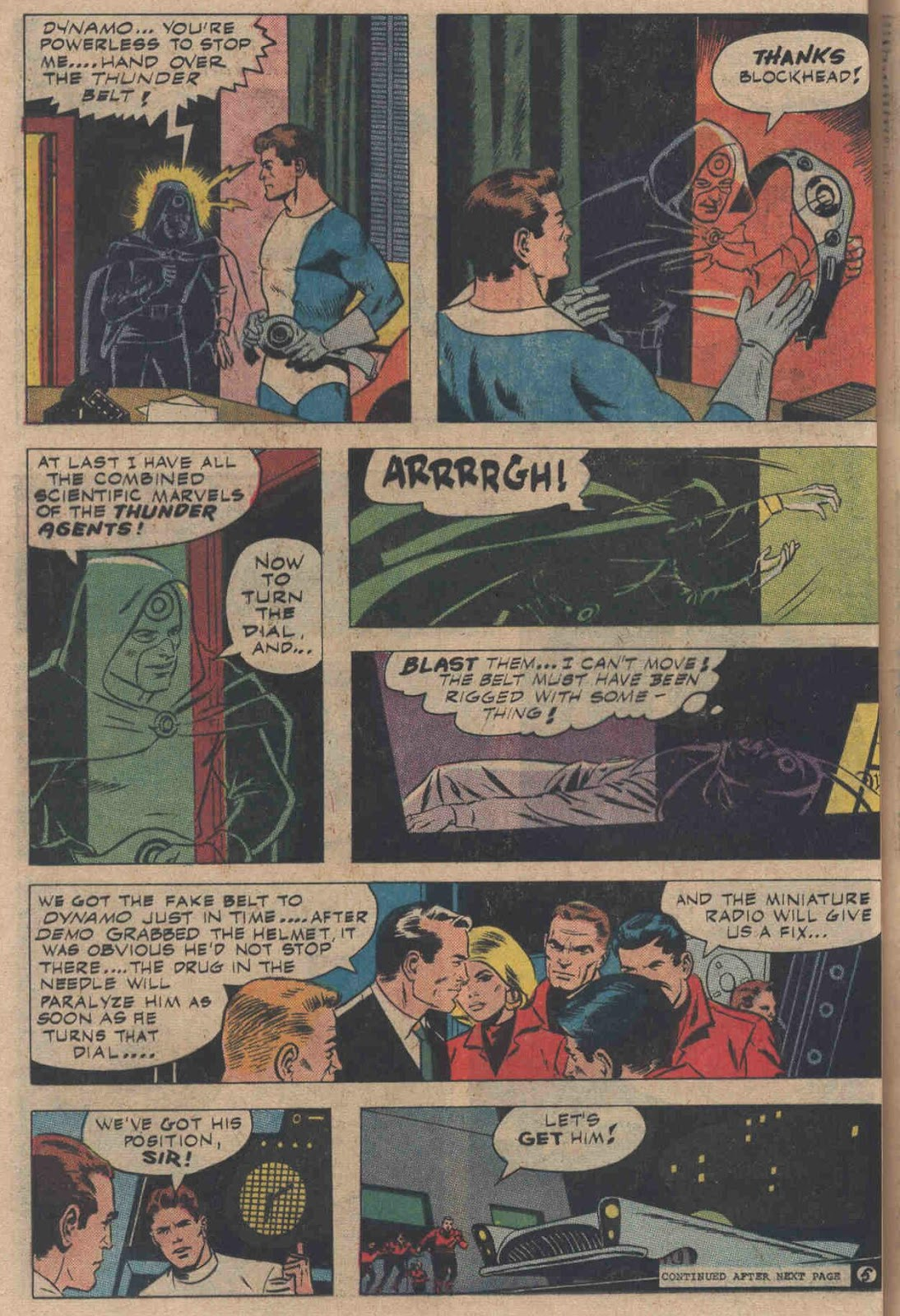T.H.U.N.D.E.R. Agents (1965) issue 6 - Page 36