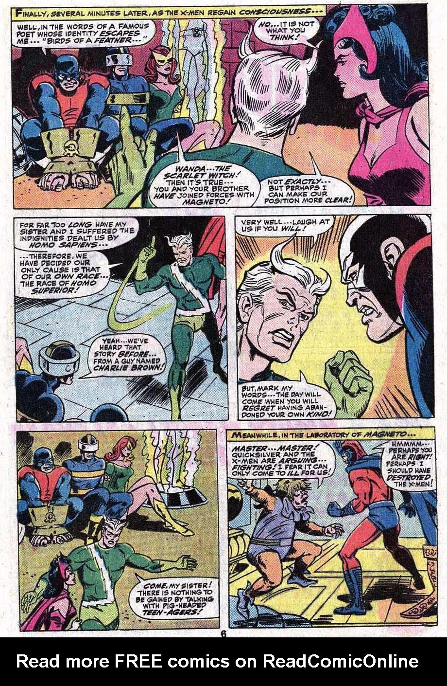 Read online Uncanny X-Men (1963) comic -  Issue #92 - 8