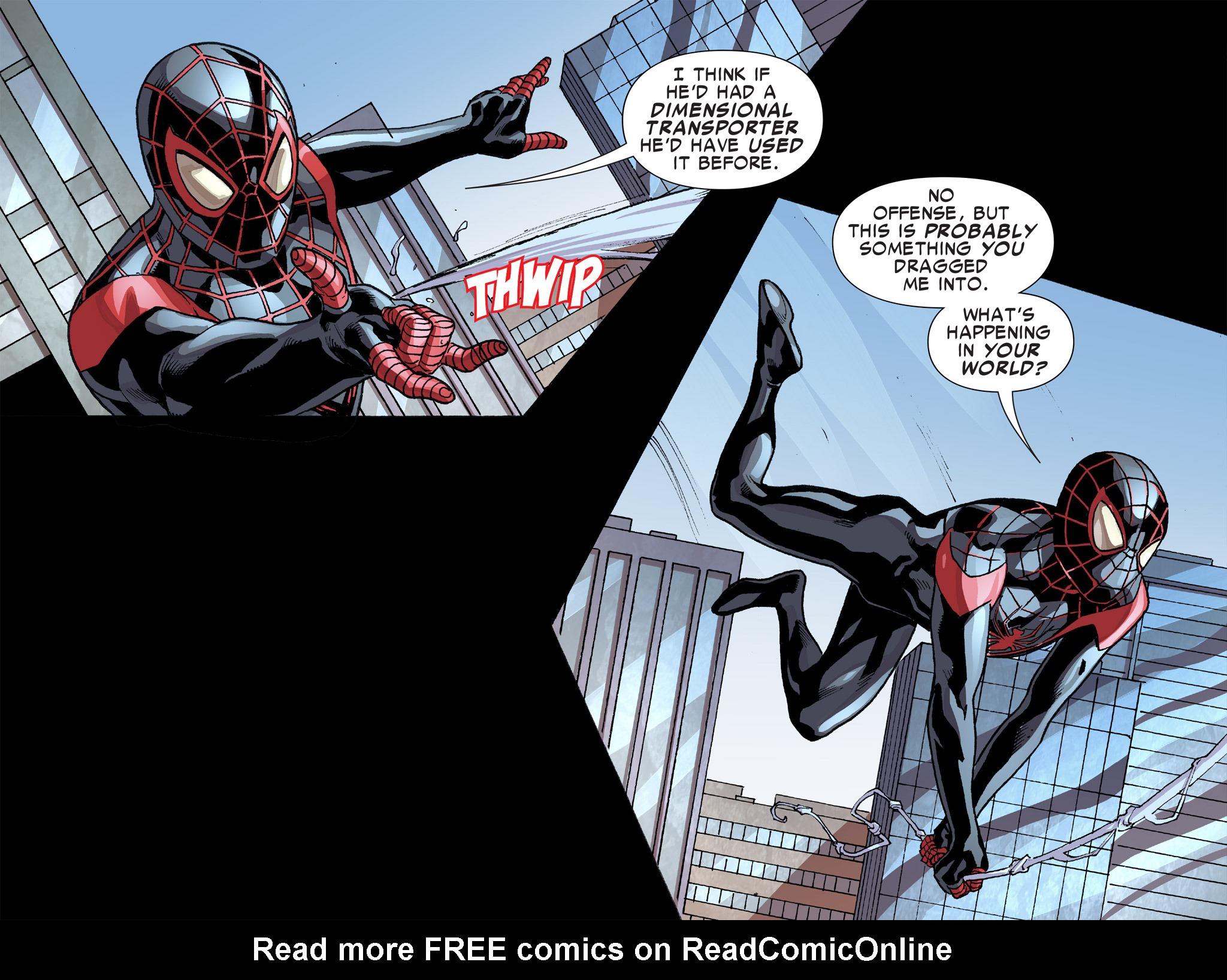 Read online Ultimate Spider-Man (Infinite Comics) (2016) comic -  Issue #8 - 23