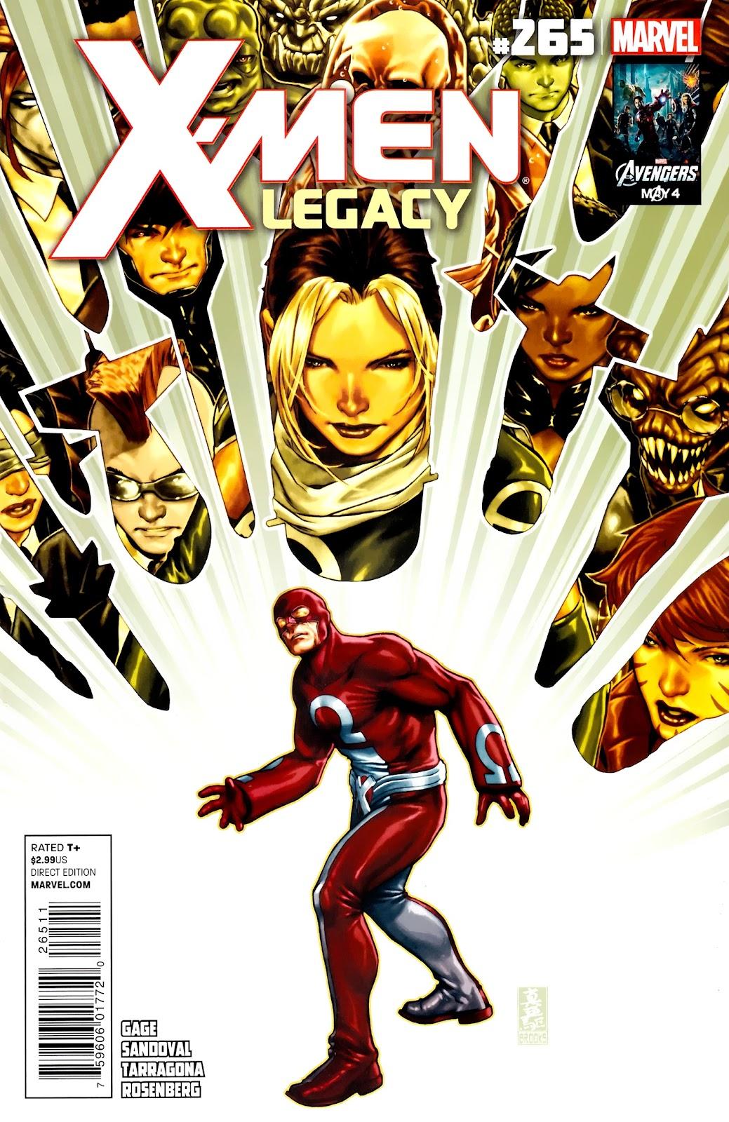 X-Men Legacy (2008) 265 Page 1