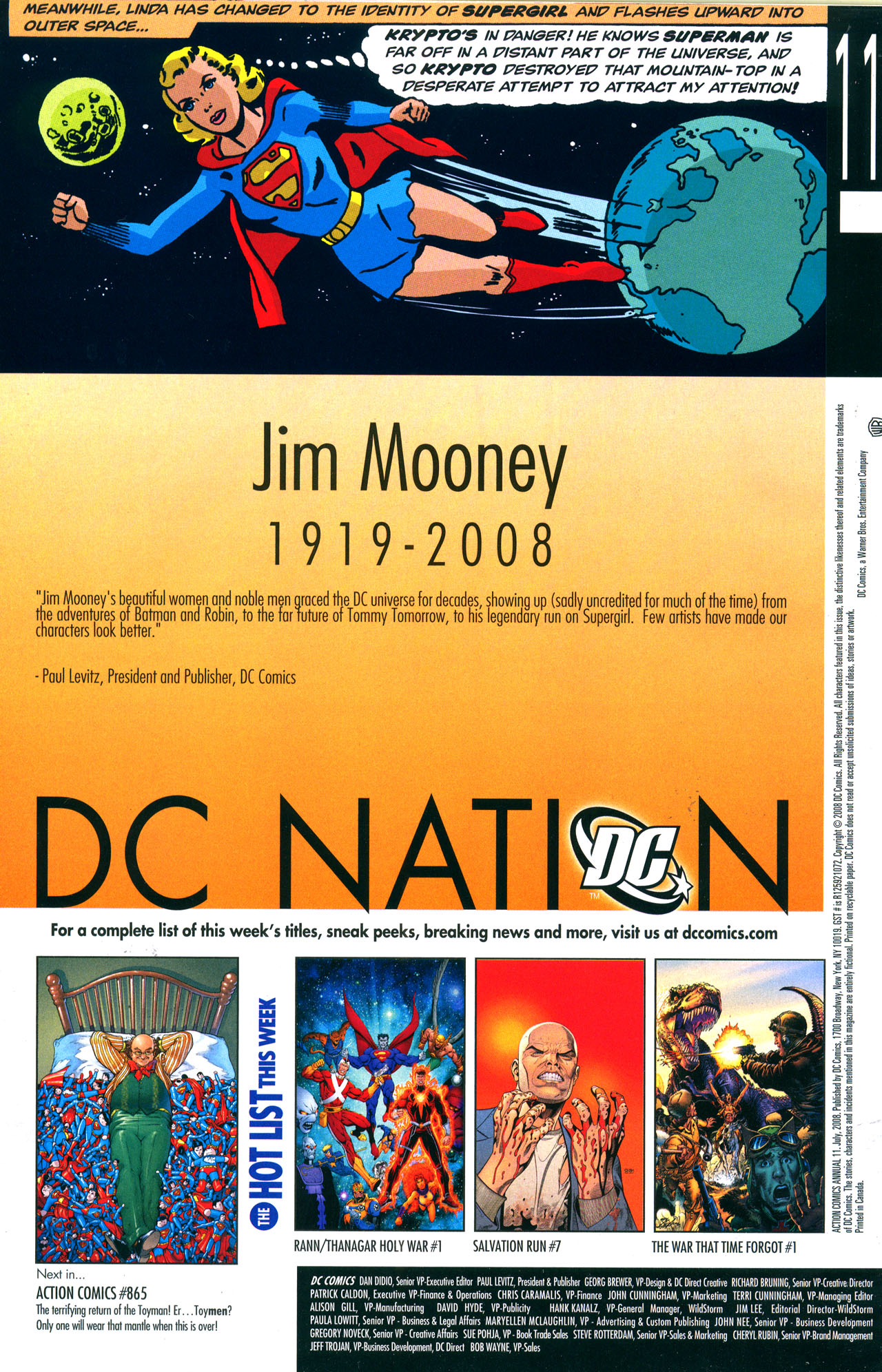 Read online Action Comics (1938) comic -  Issue #Action Comics (1938) _Annual 11 - 41