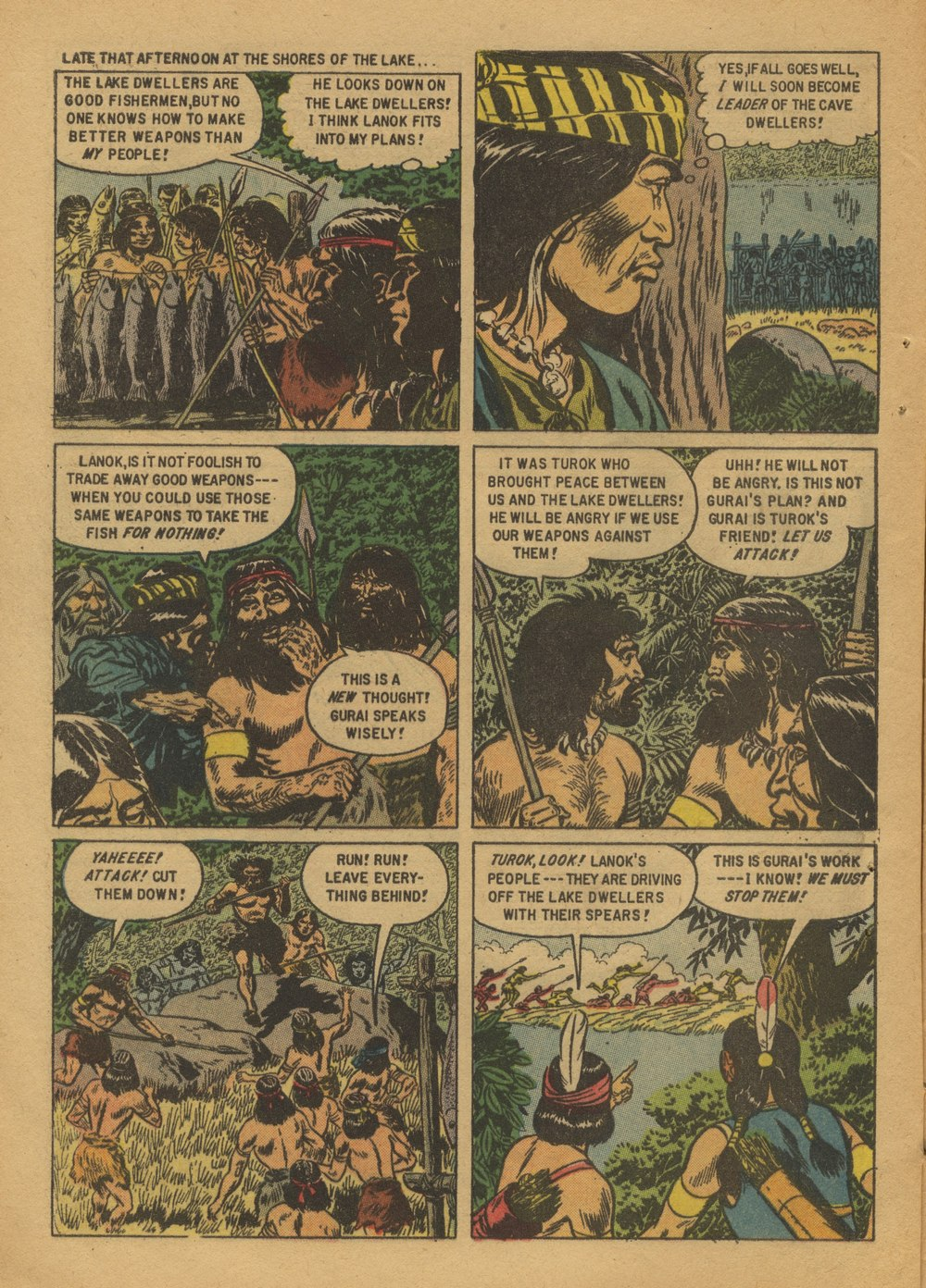 Read online Turok, Son of Stone comic -  Issue #12 - 8