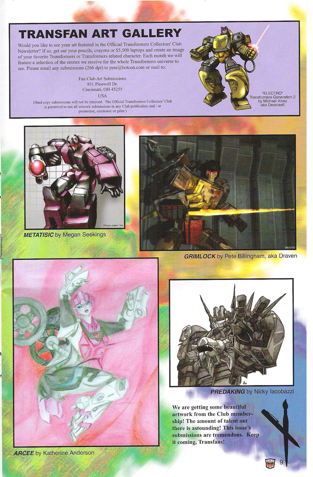 Read online Transformers: Collectors' Club comic -  Issue #5 - 9
