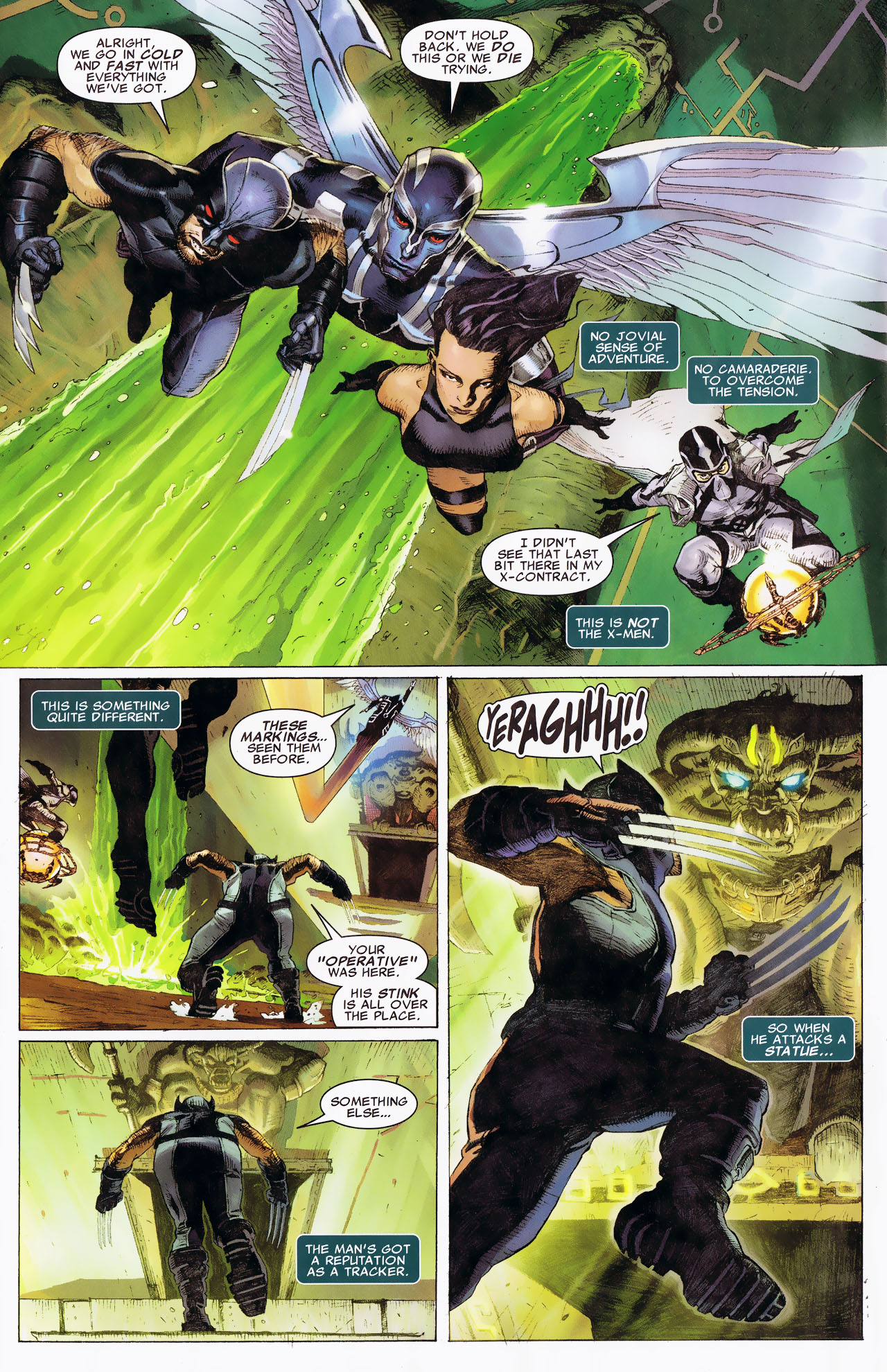 Read online Uncanny X-Force: The Apocalypse Solution comic -  Issue # Full - 18