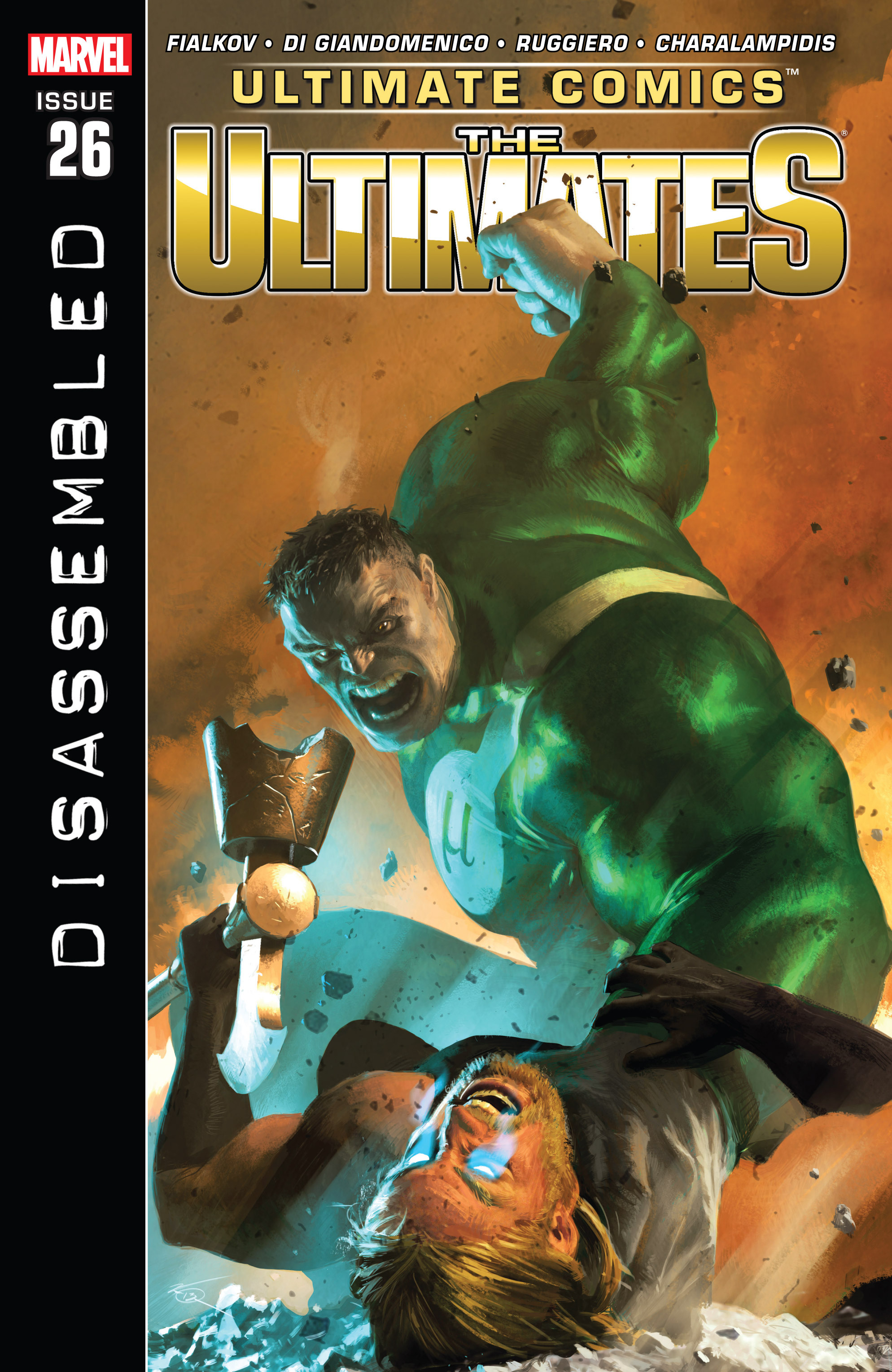 Read online Ultimate Comics Ultimates comic -  Issue #26 - 1