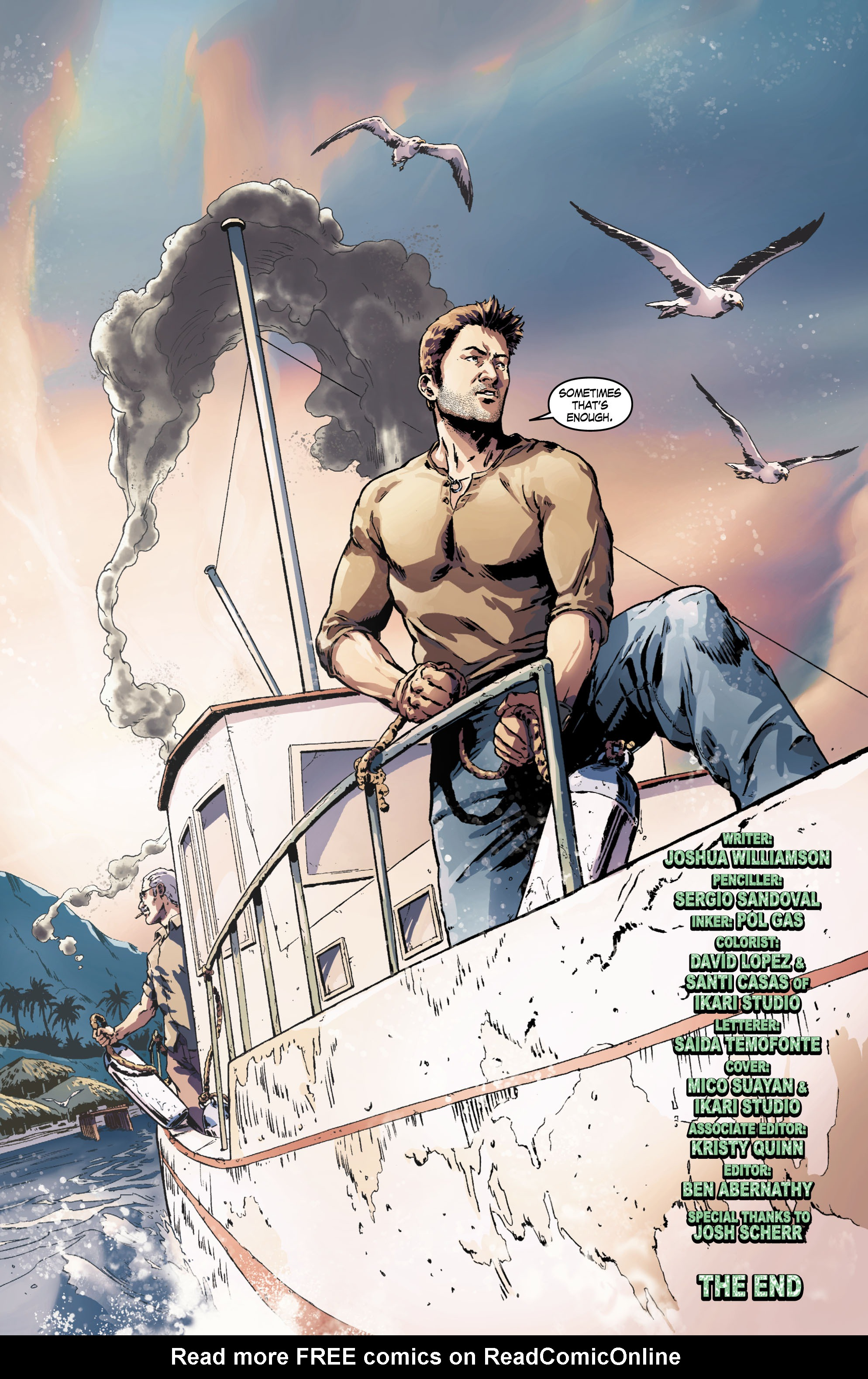 Read online Uncharted comic -  Issue #6 - 21
