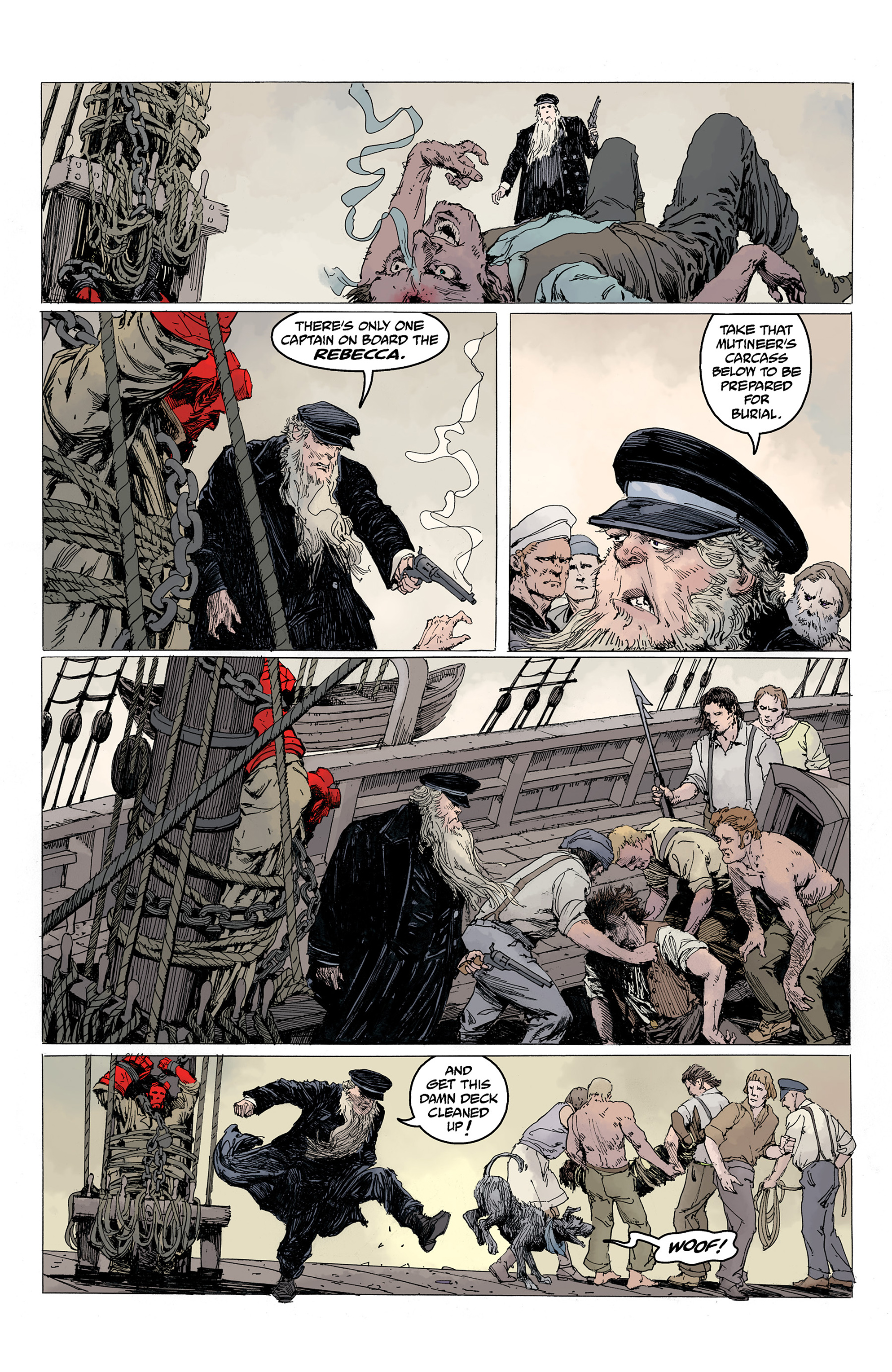 Read online Hellboy: Into the Silent Sea comic -  Issue # Full - 16
